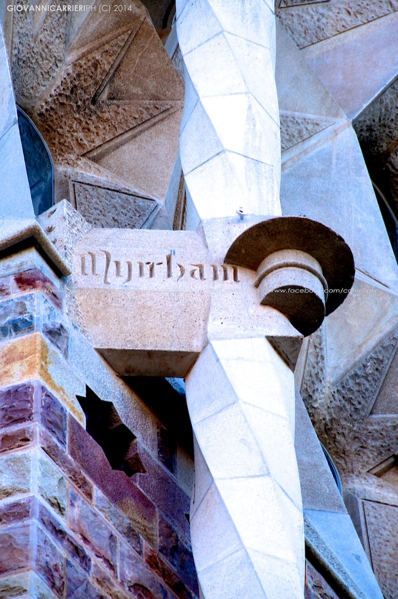 Dettaglio della Sagrada Familia