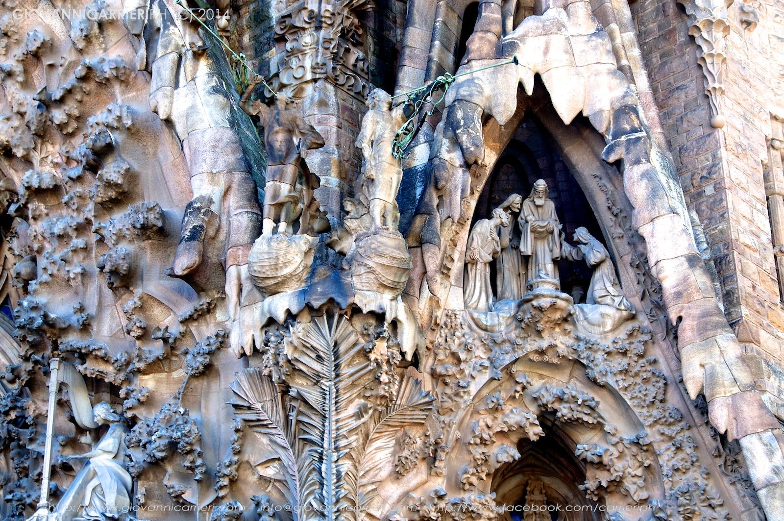 Particolare della Sagrada Familia