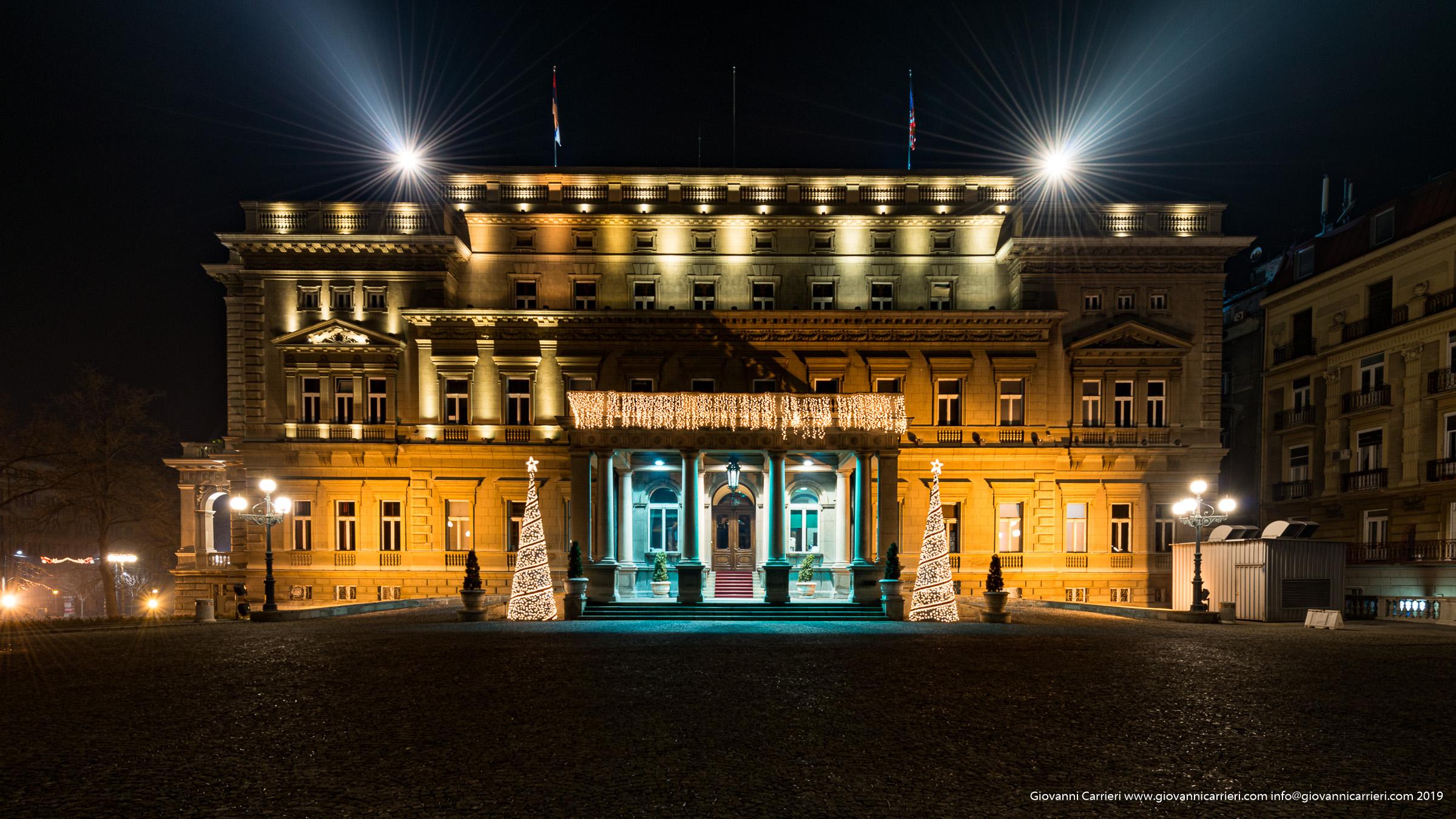 La casa comunale di Belgrado
