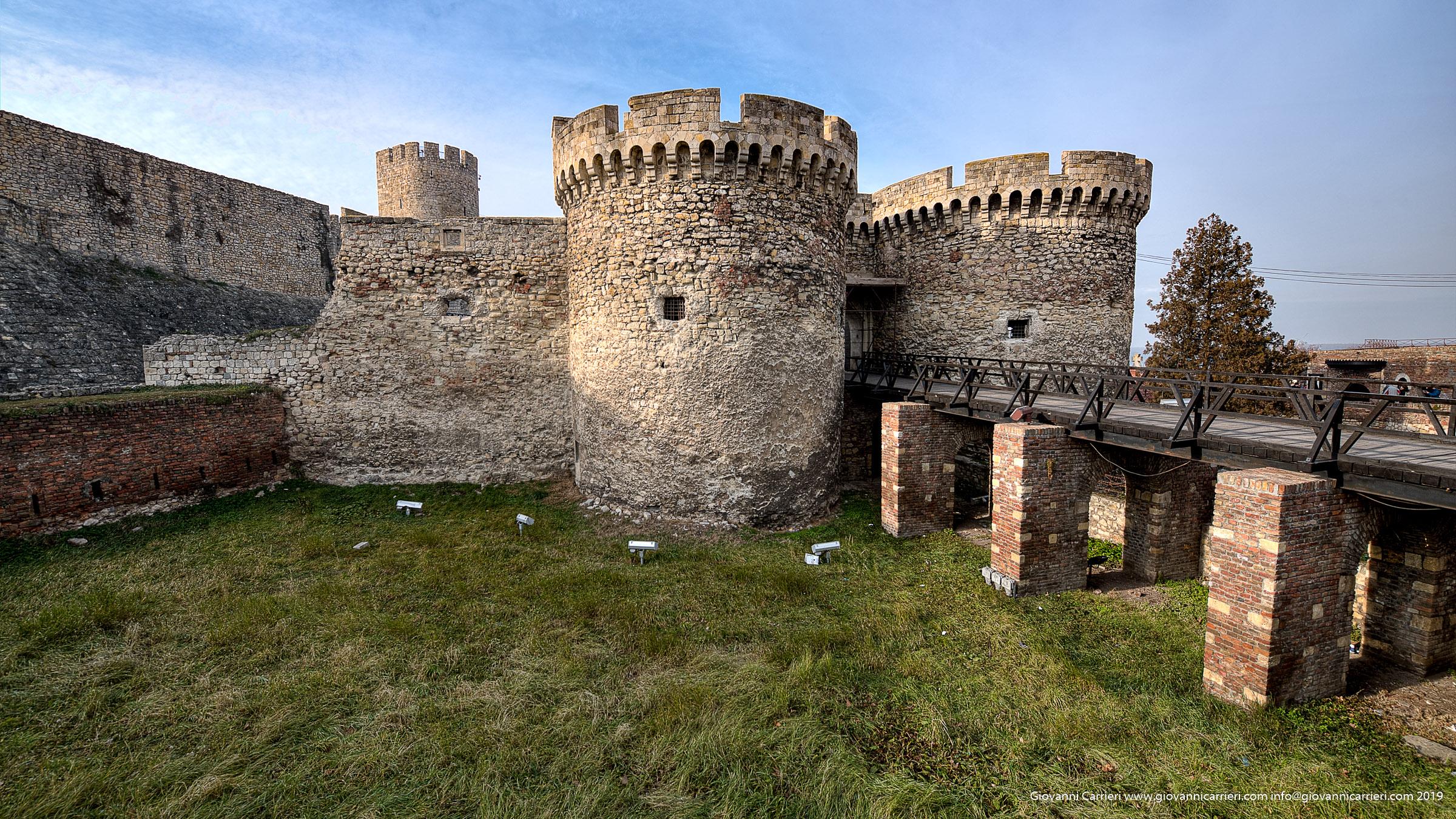 Particolari della fortezza Kalemegdan di Belgrado