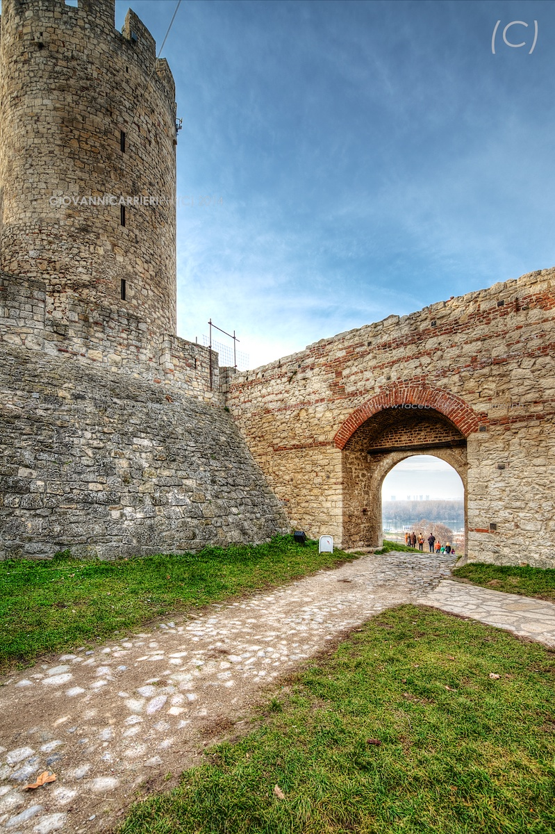 La torre del Despota Lazar nella fortezza Kalemegdan - Belgrado