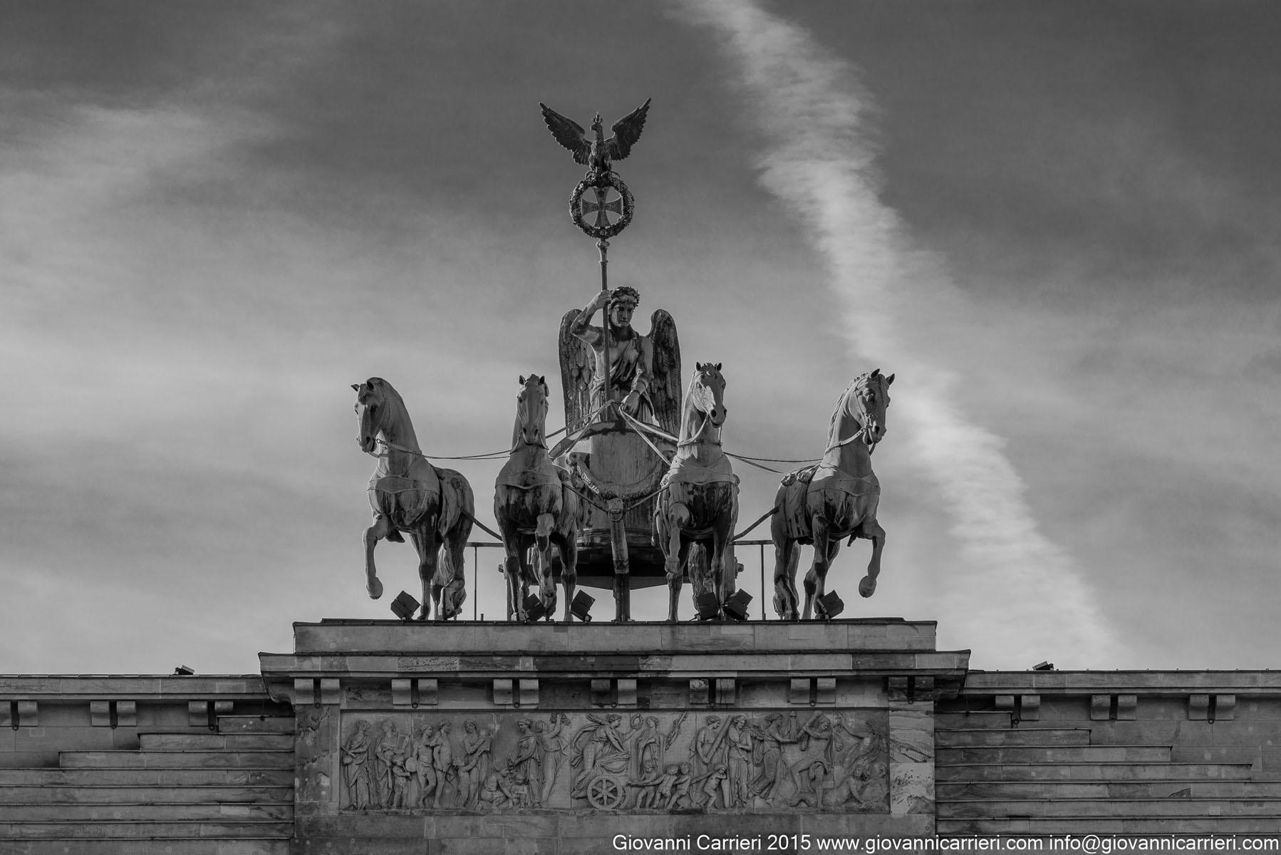 La quadriga della Porta di Brandeburgo