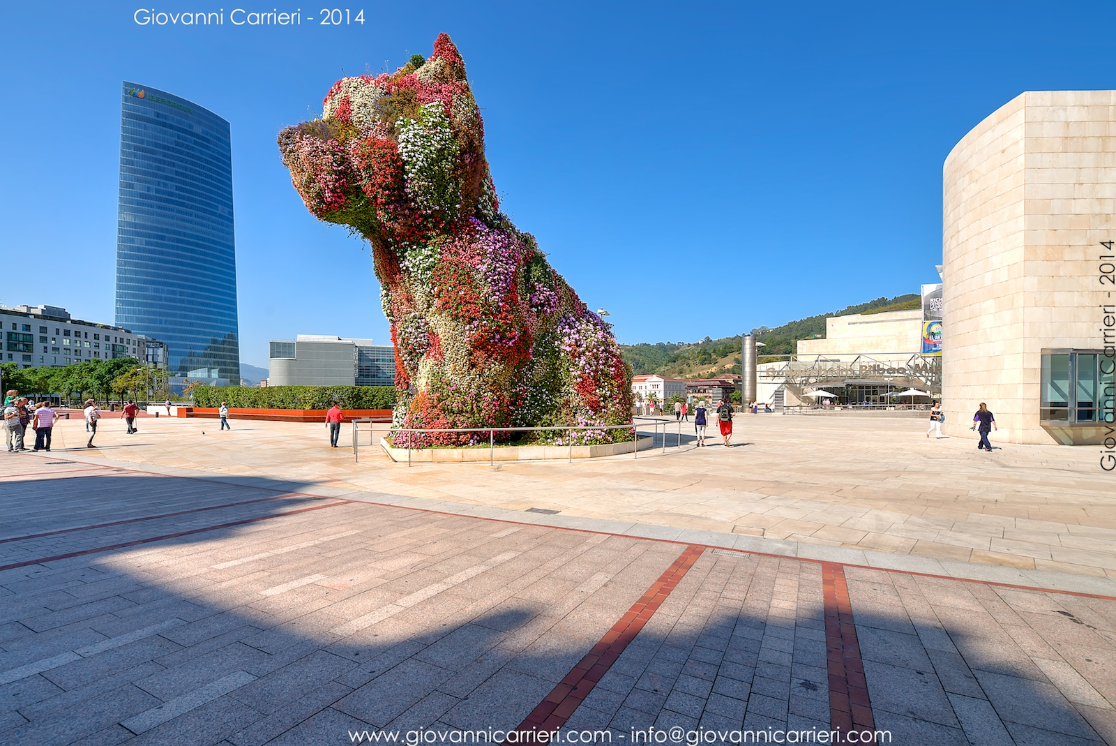 Puppy di Jeff Koons Bilbao