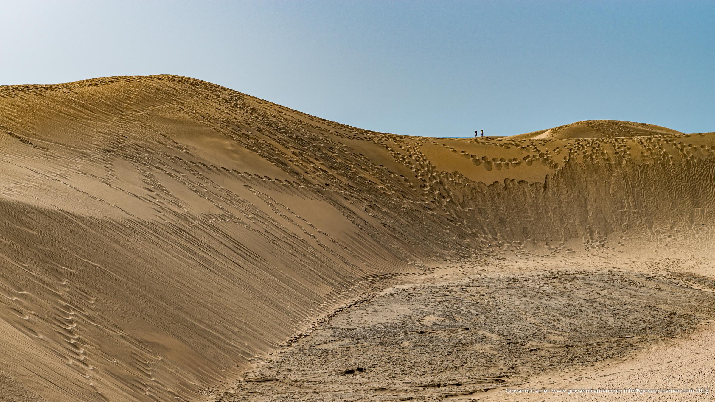 Le magnifiche dune di Mas Palomas - Isole Canarie