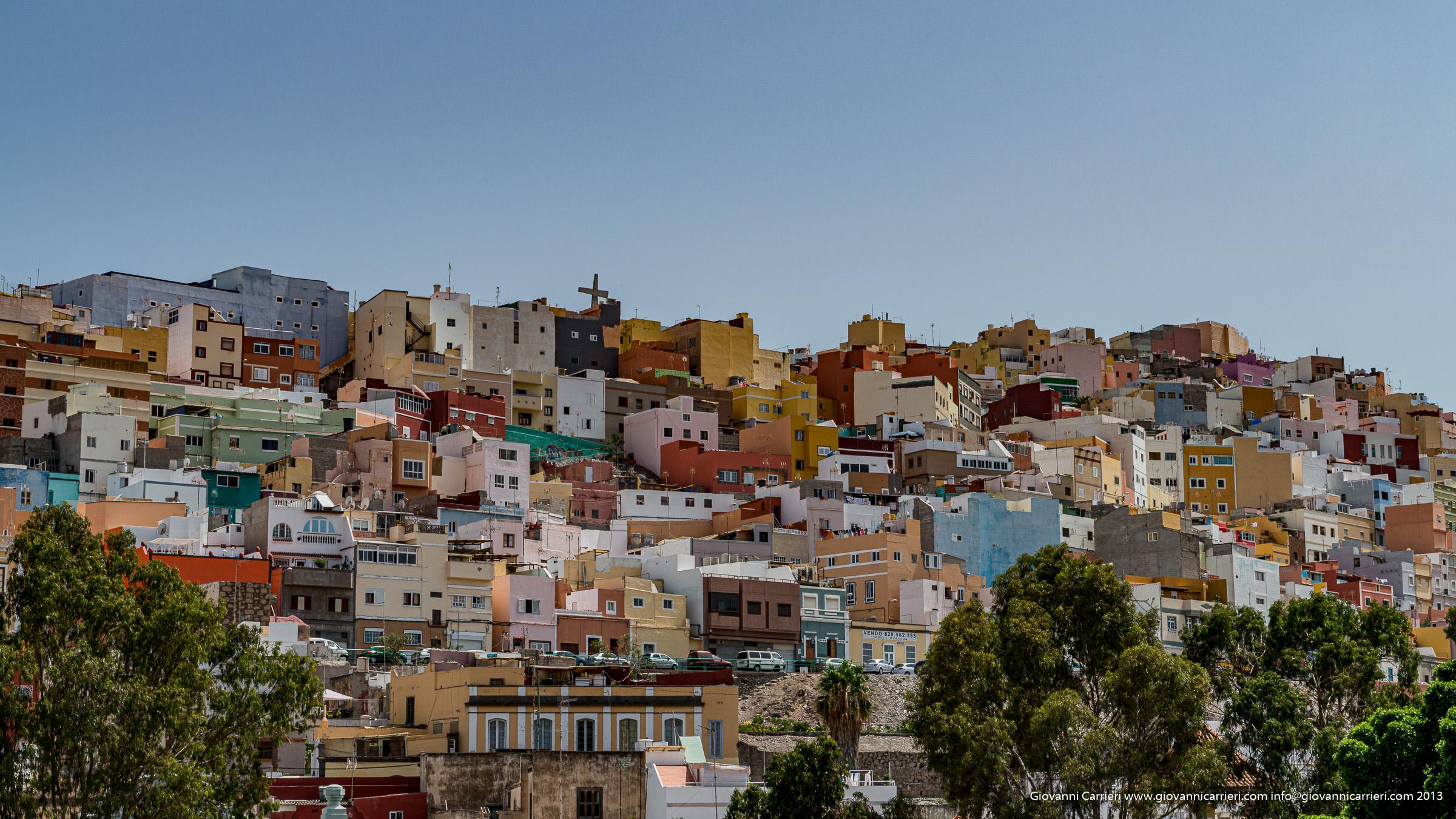 Las Palmas de Gran Canaria panoramica urbana