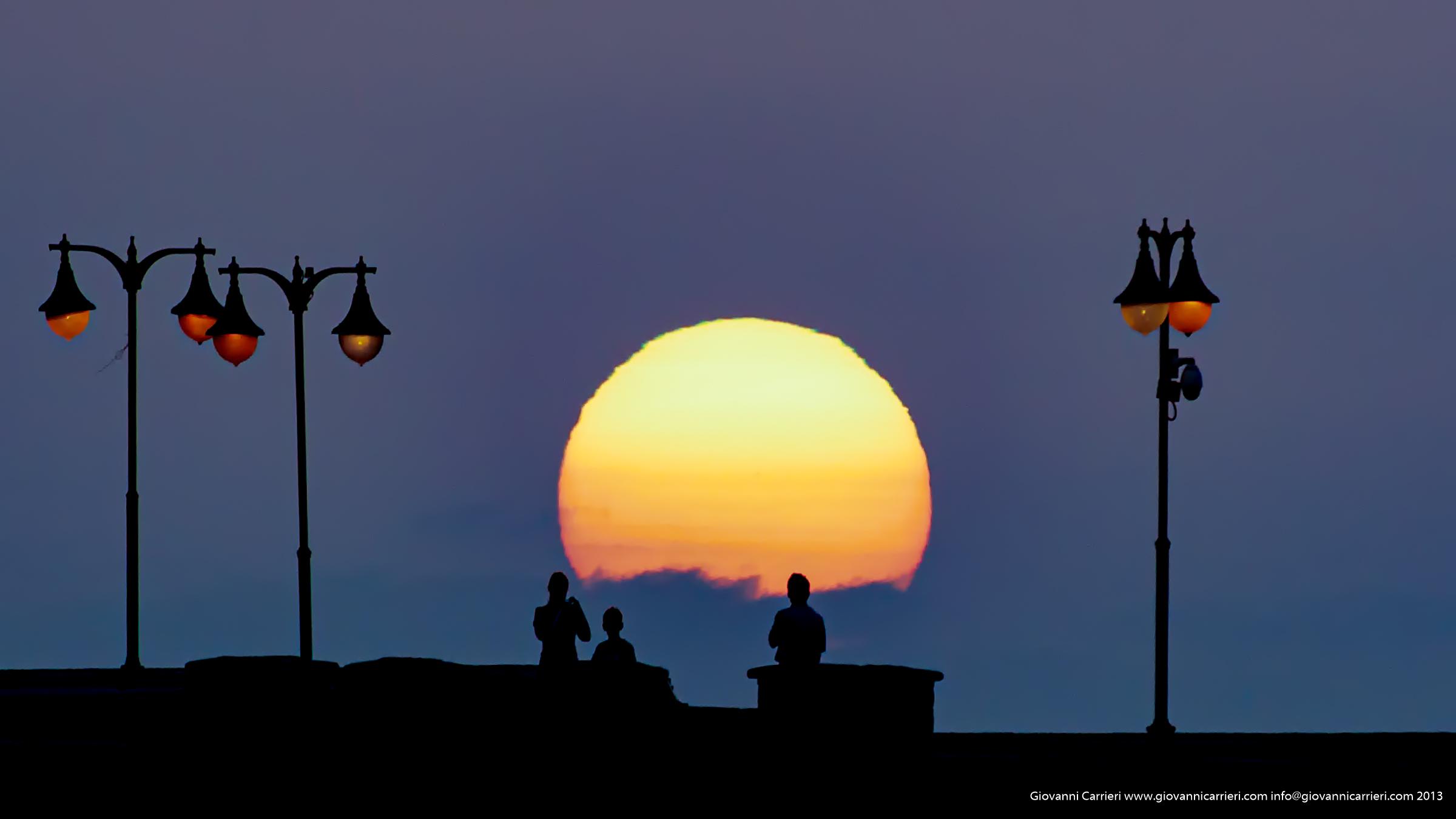 Il tramonto visto da Tenerife - Isole Canarie