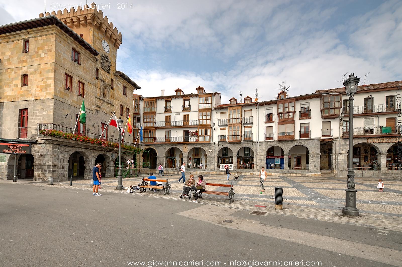 Il palazzo comunale di Castro Urdiales - Spagna