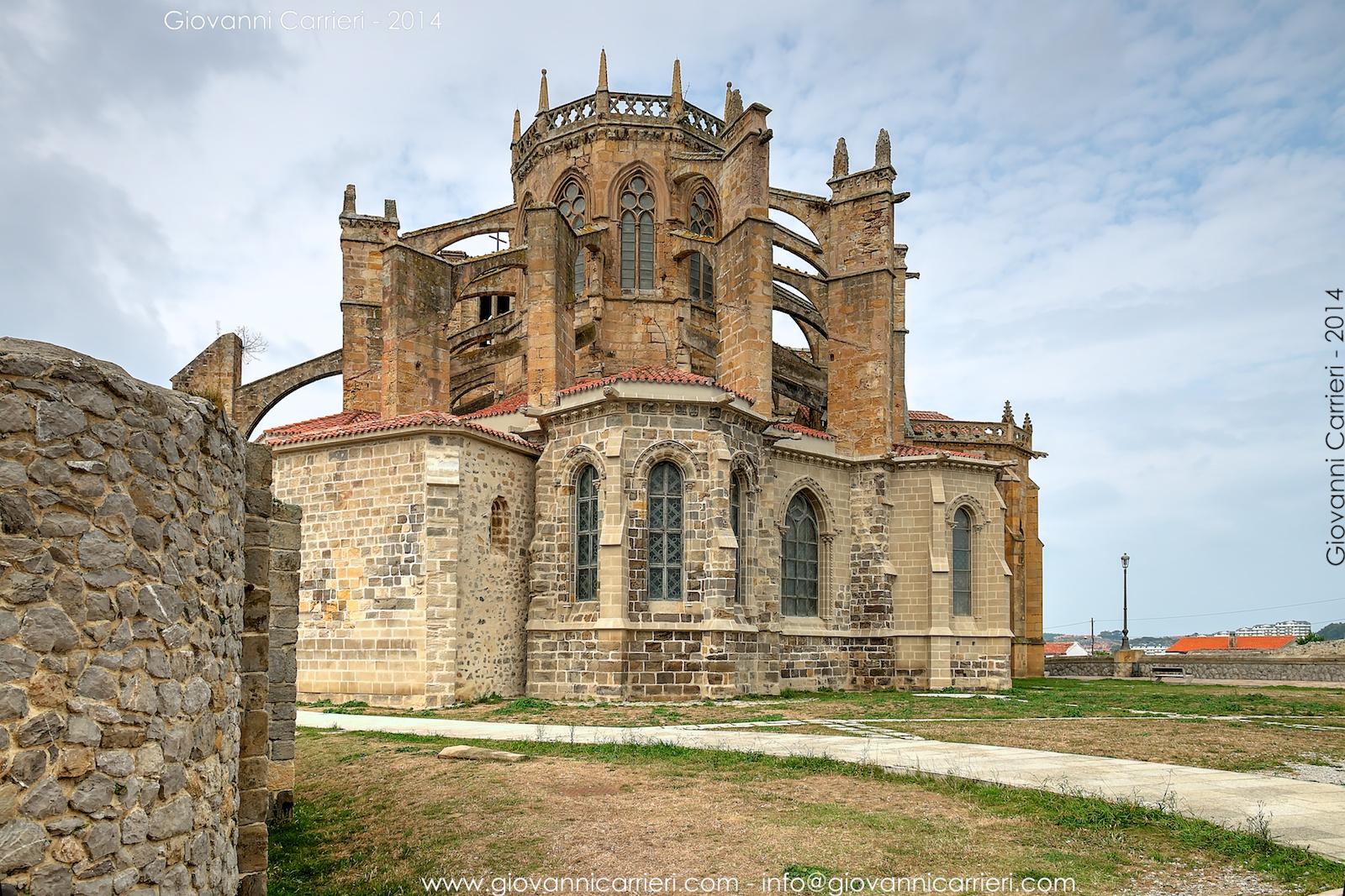 La chiesa di Santa Maria dell'Assunta - Castro Urdiales Spagna