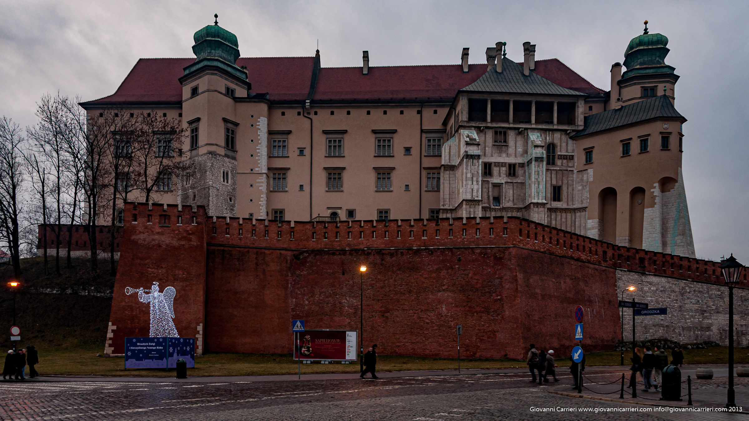 View of Cracow's Castle