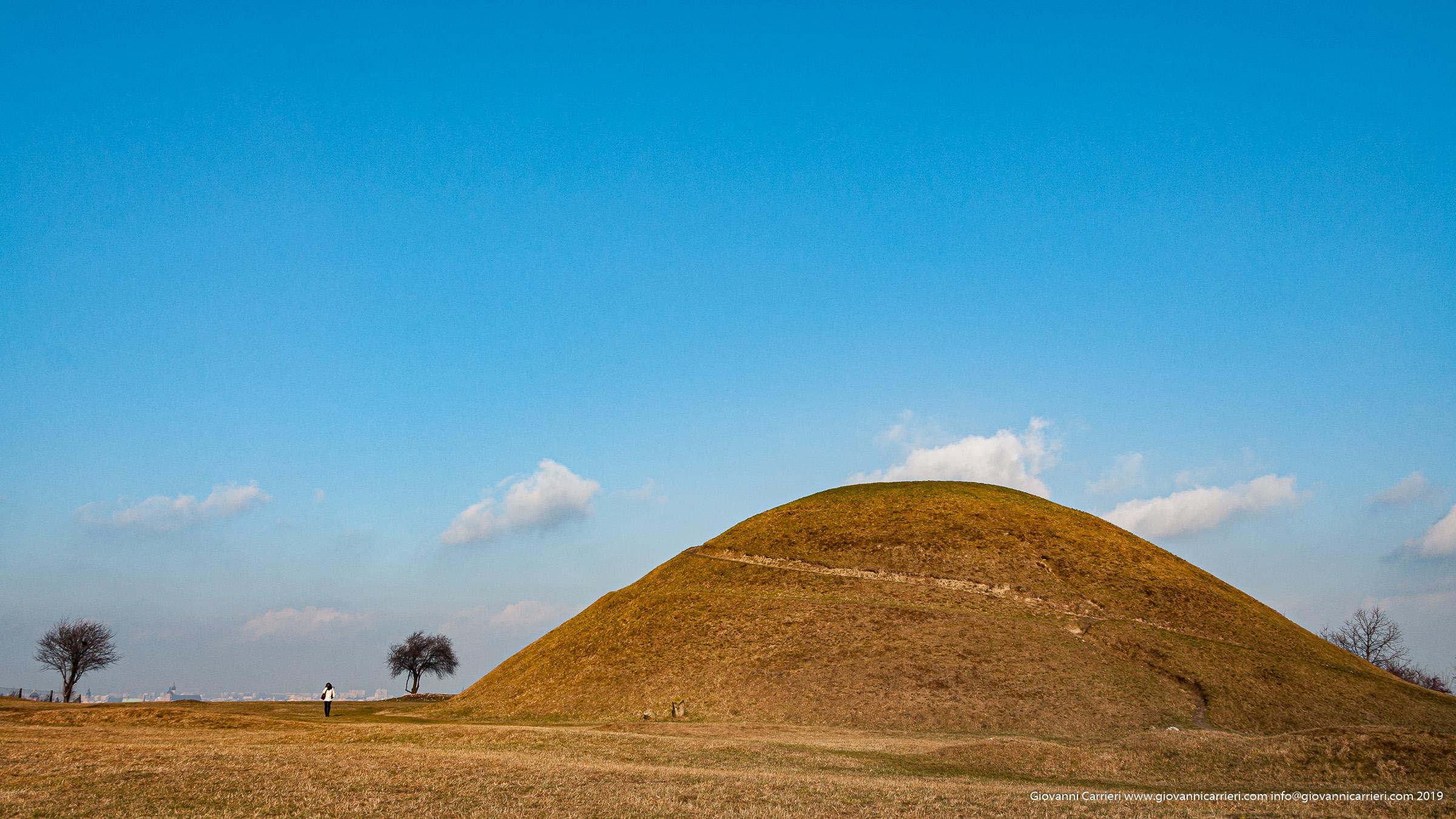 Il Krakus Mound sulla collina Lasota