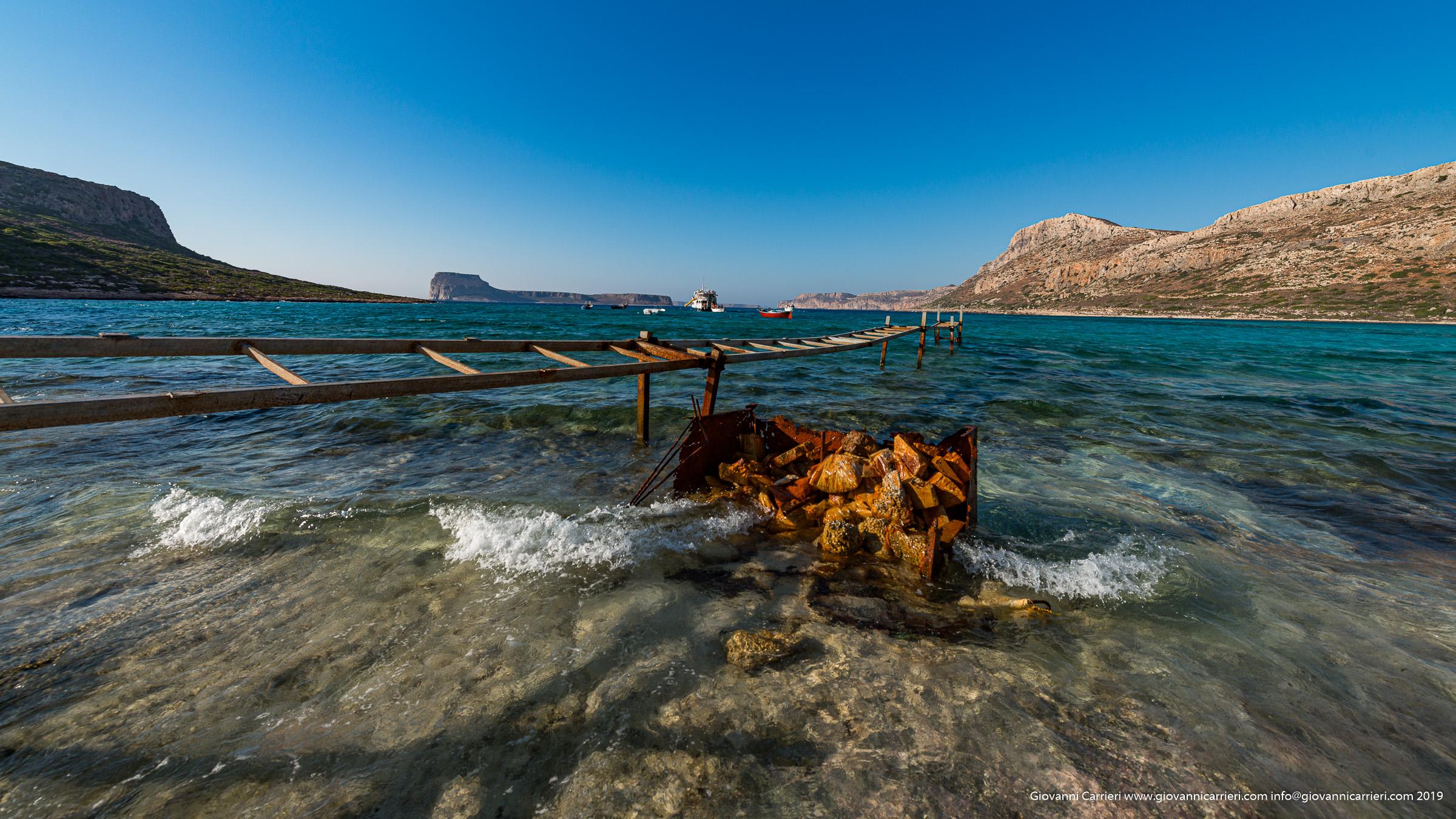 Particolari dalla spiaggia di Balos