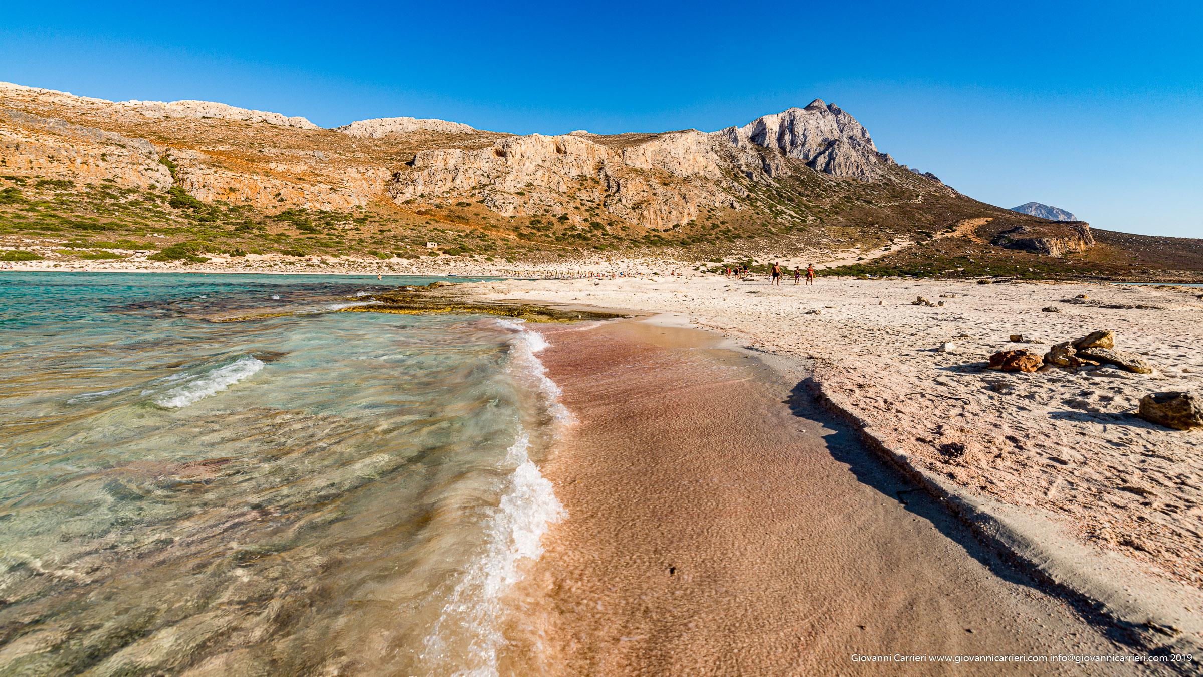 La sabbia rosa di Balos - Creta