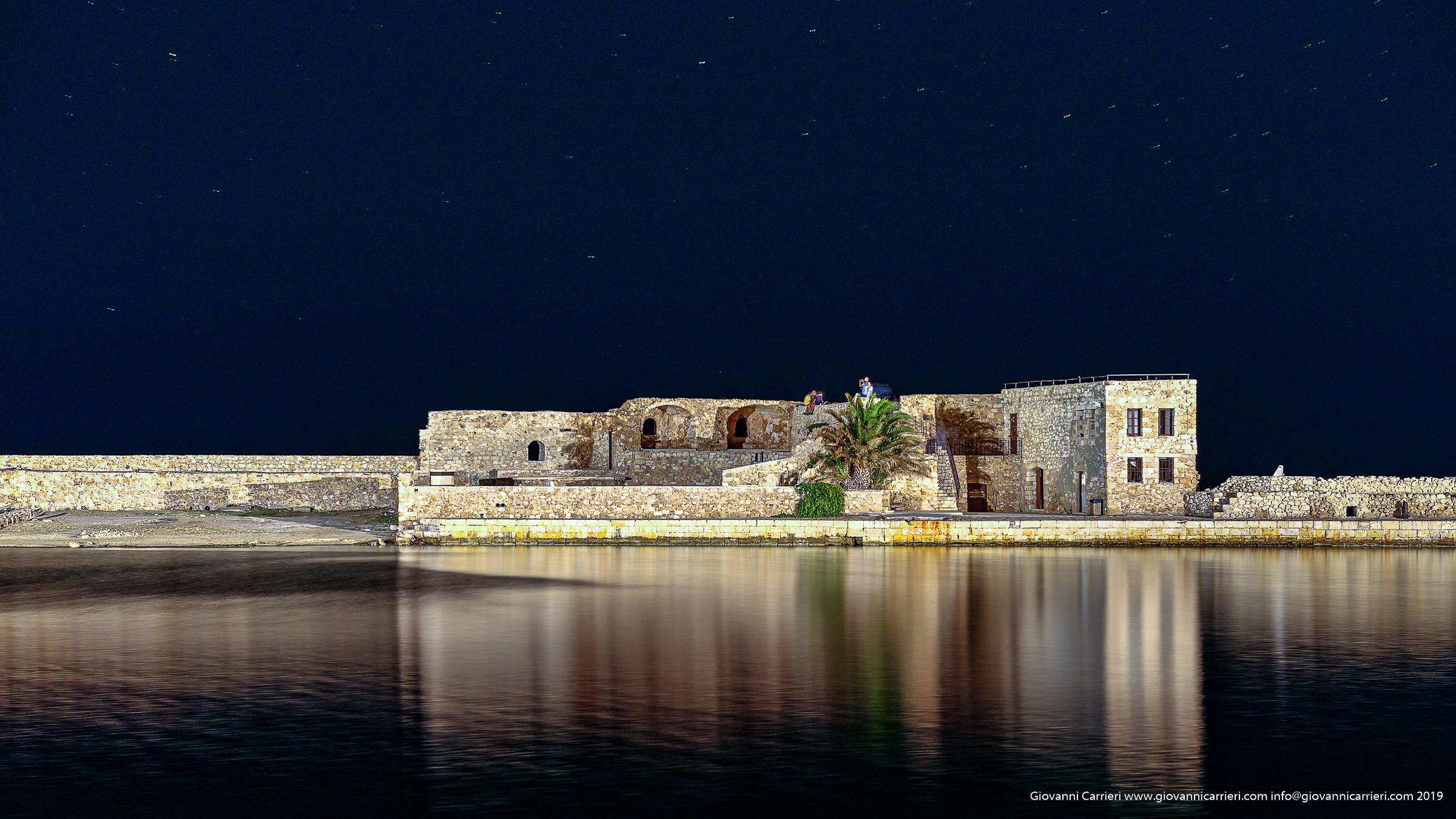 Particolare del porto di Chania