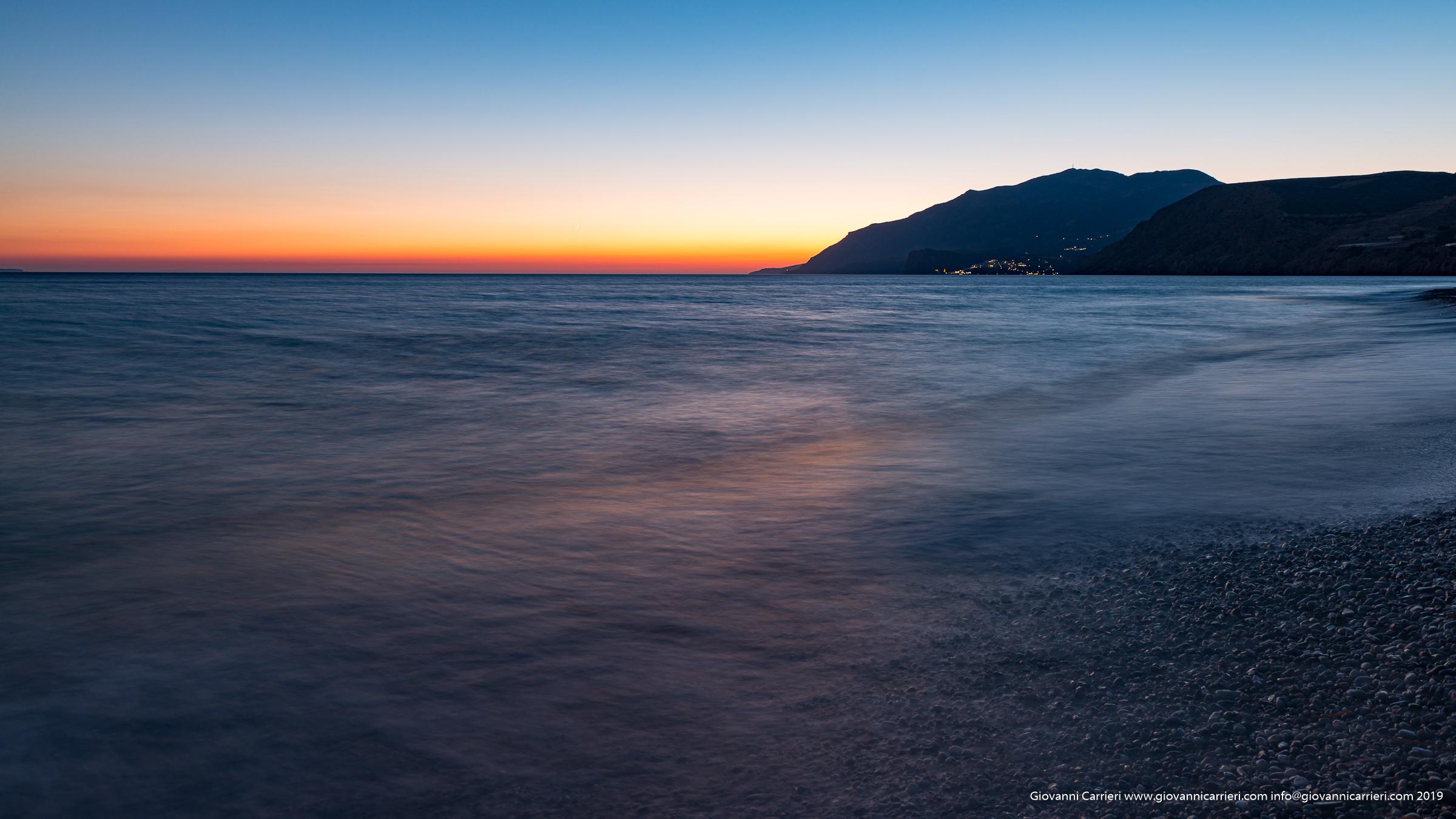 Il tramonto visto da Kokkinos Pyrgos