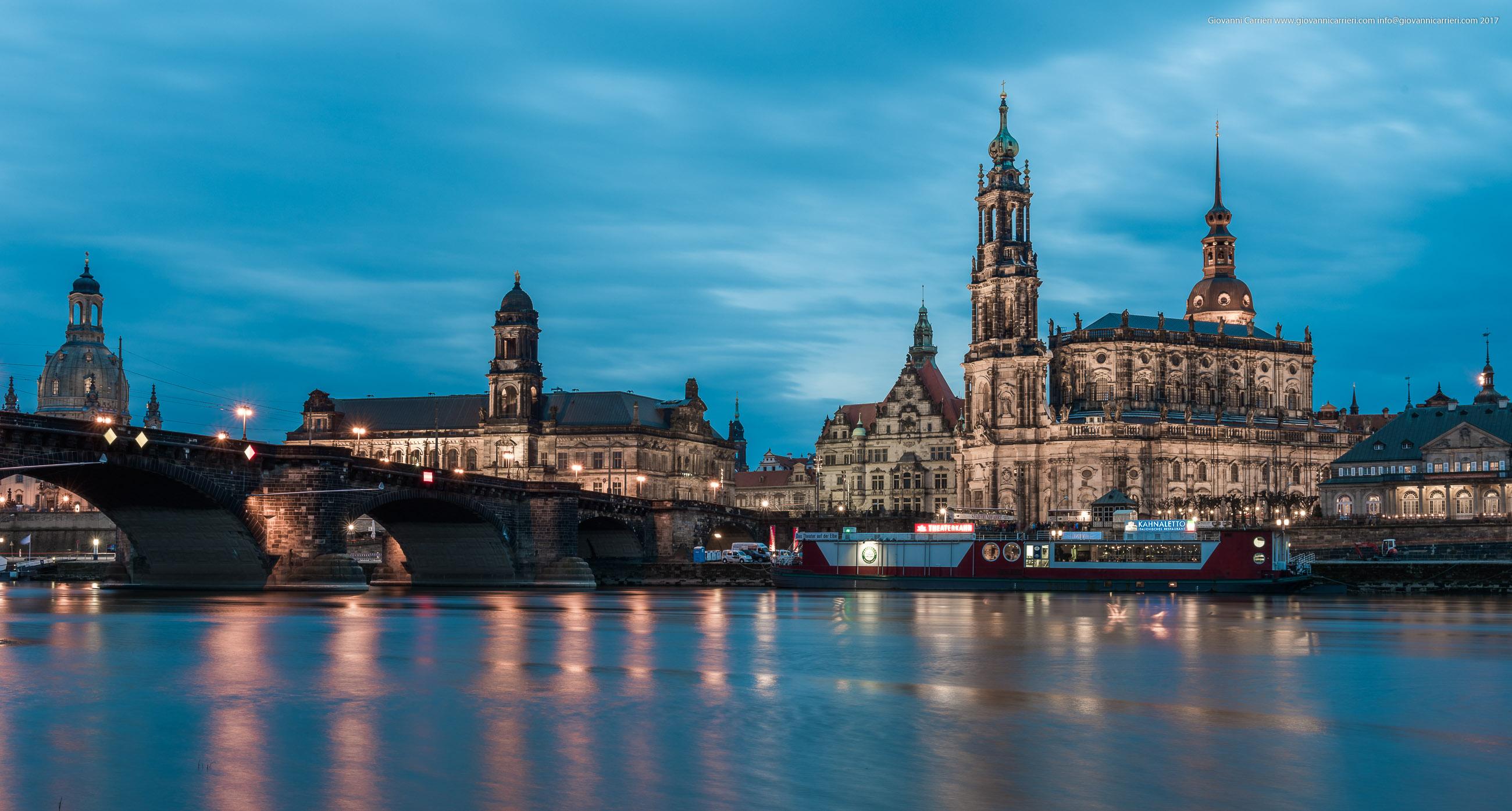 La chiesa cattolica di Dresda
