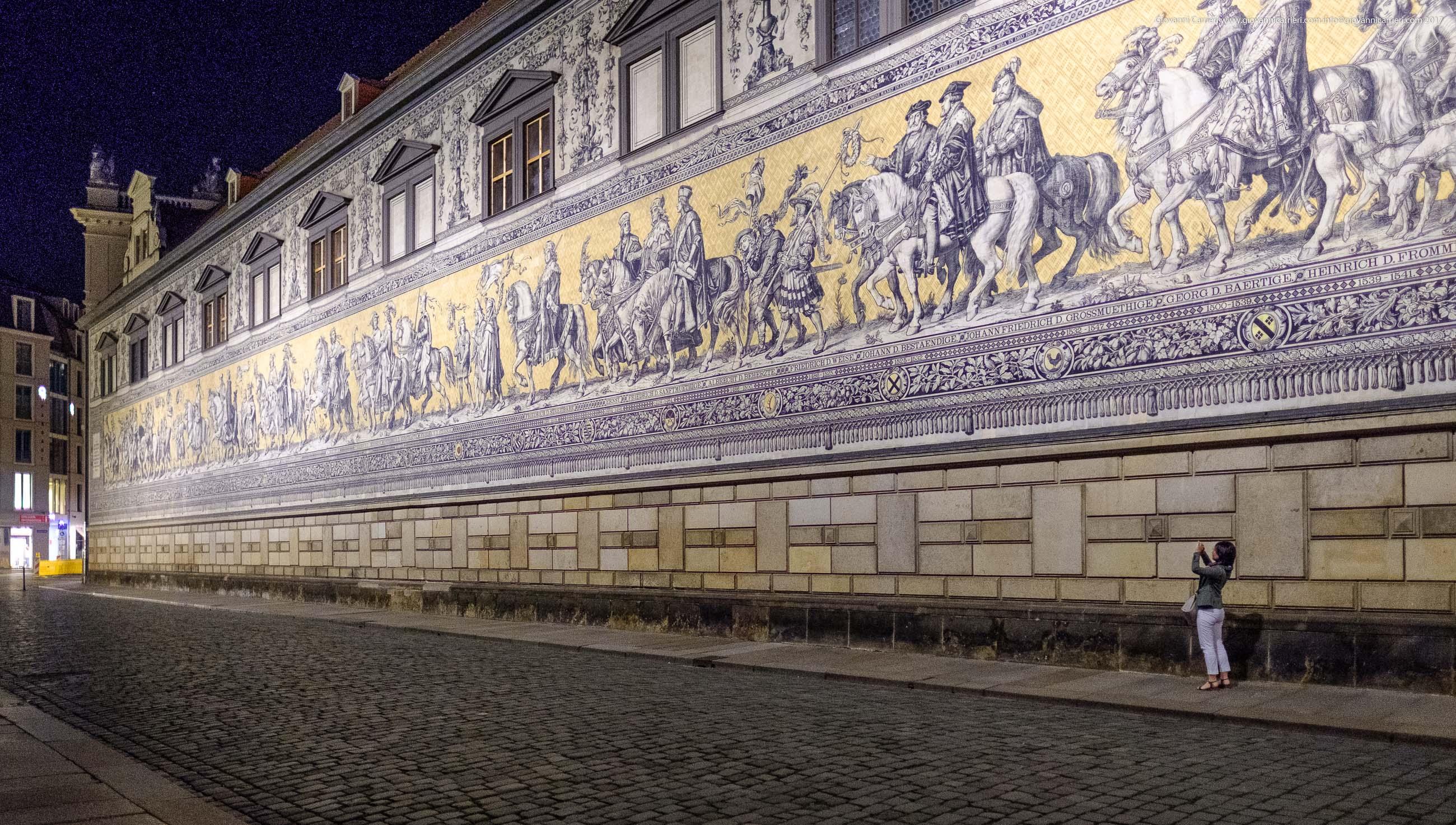 Via Augustus, ed  il Fürstenzug