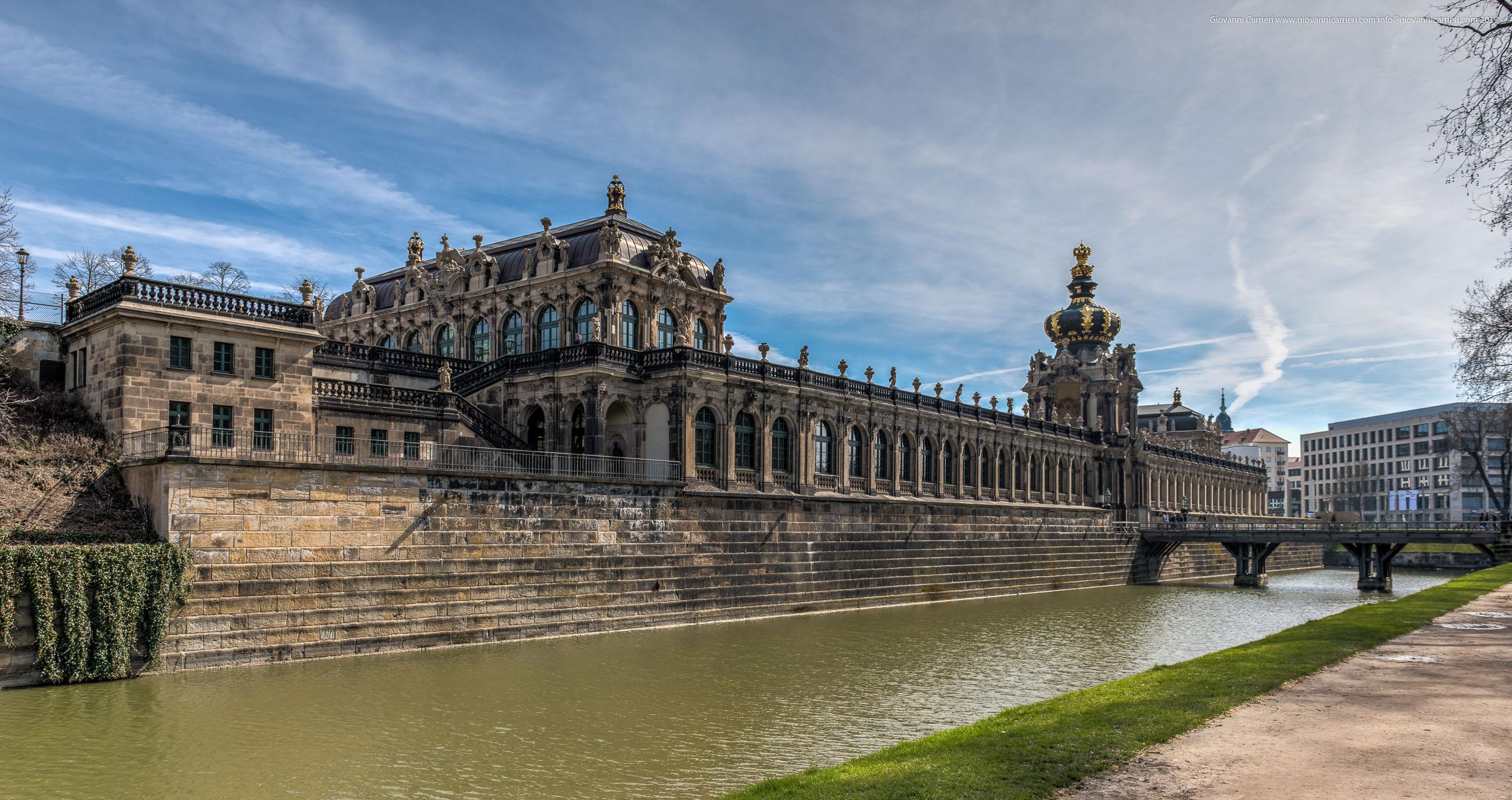Vista esterna dello Zwinger, Dresda