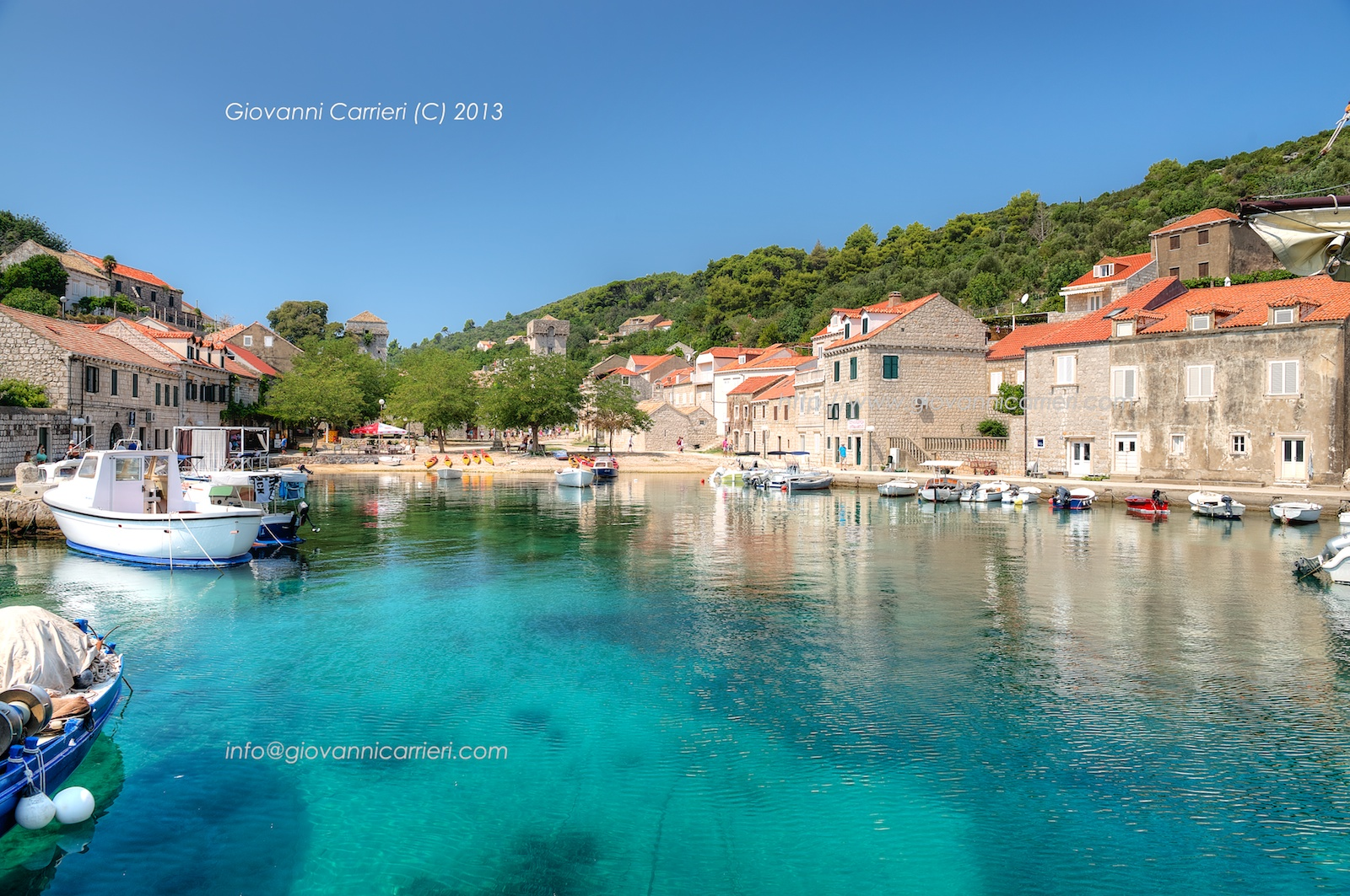 L'isola di Sudurad nei pressi di Dubrovnik