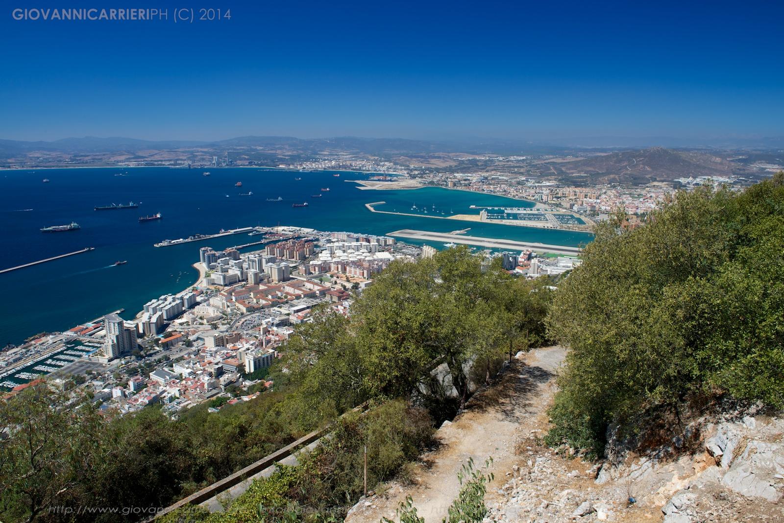 La baia di Gibilterra