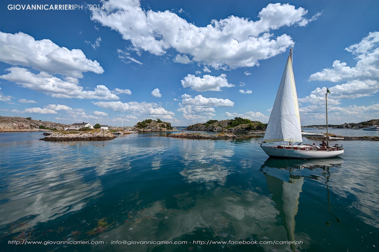 Styrso island. Gothenburg Archipelago