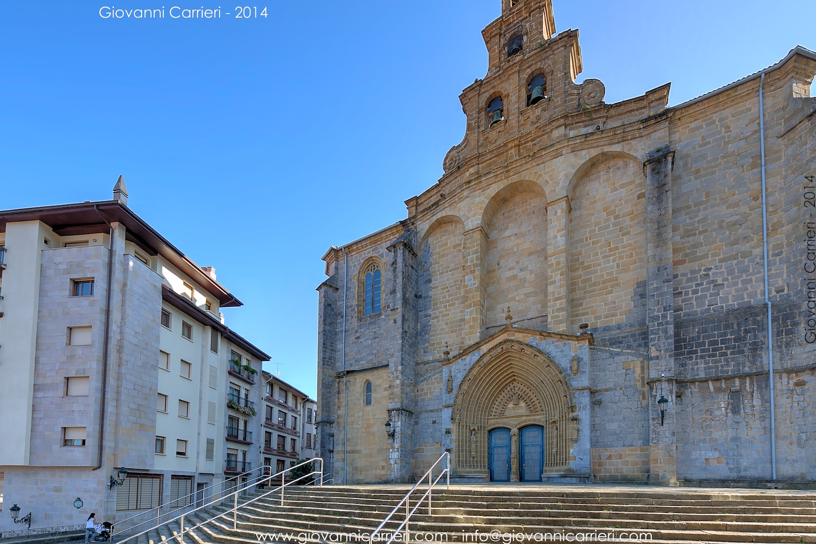 La chiesa di Santa Maria, Guernica