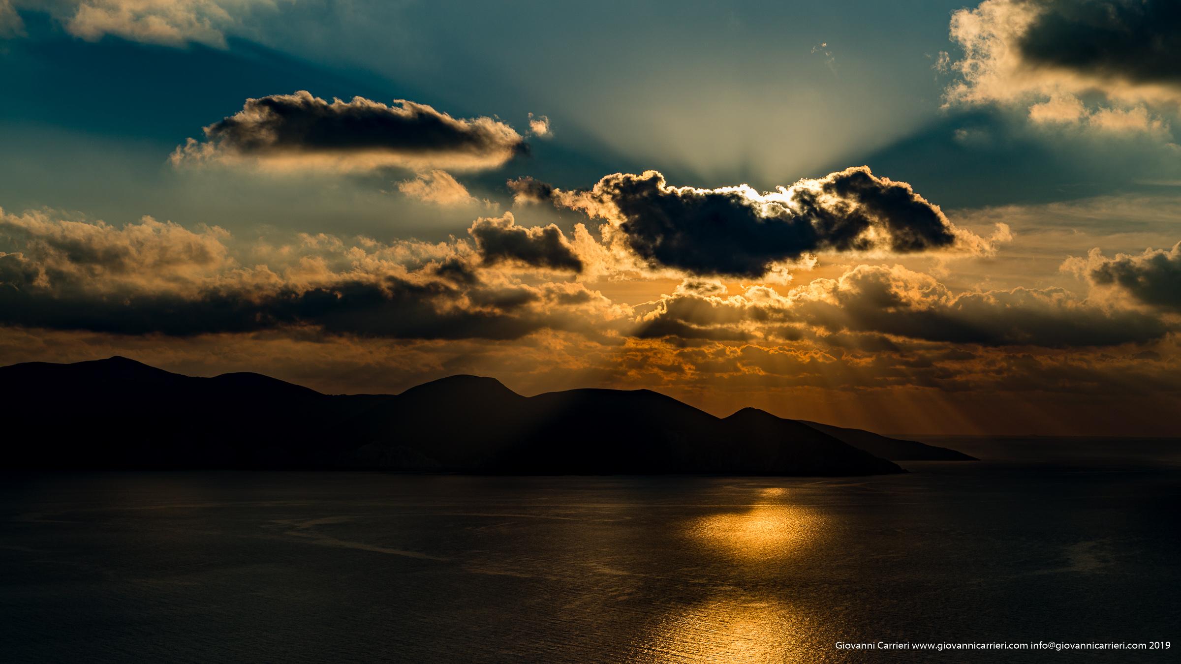Sunset on Kefalonia