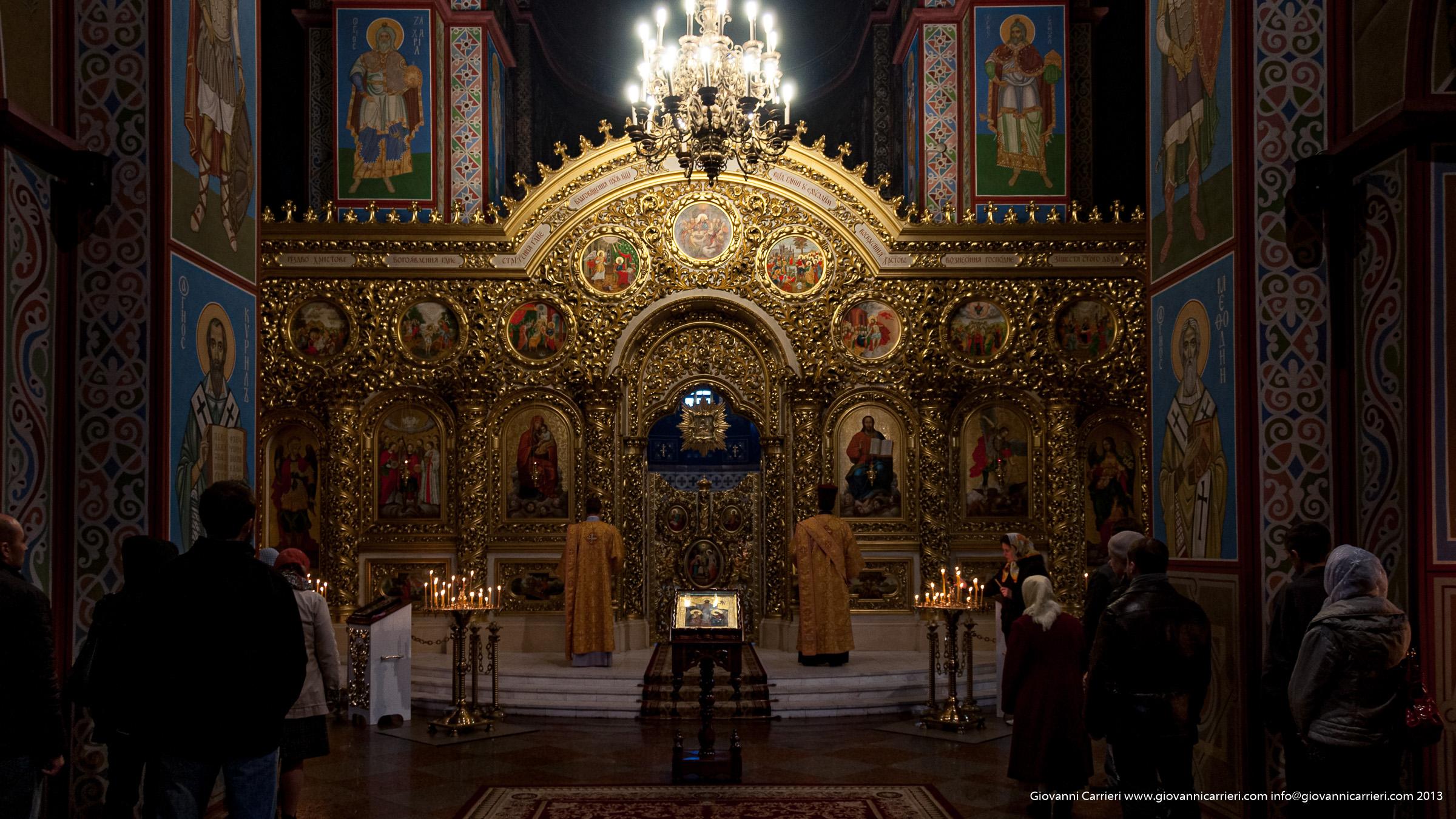 Interno della cattedrale San Michele - Kiev