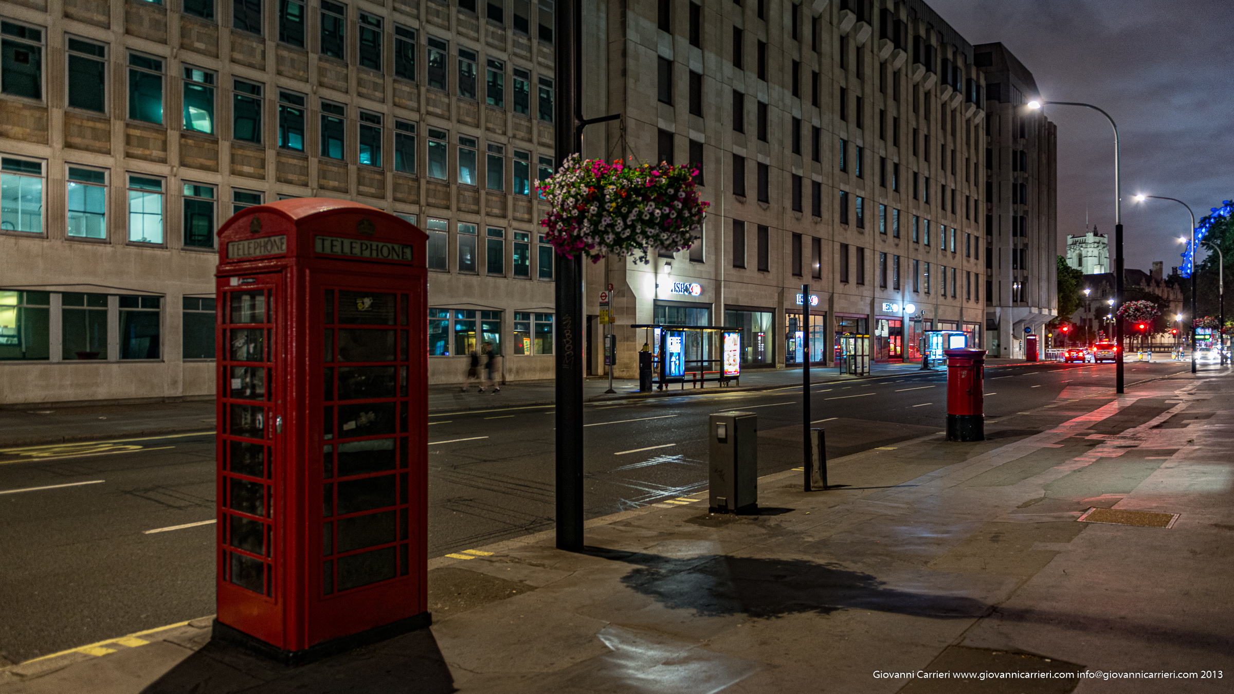 La cabina telefonica