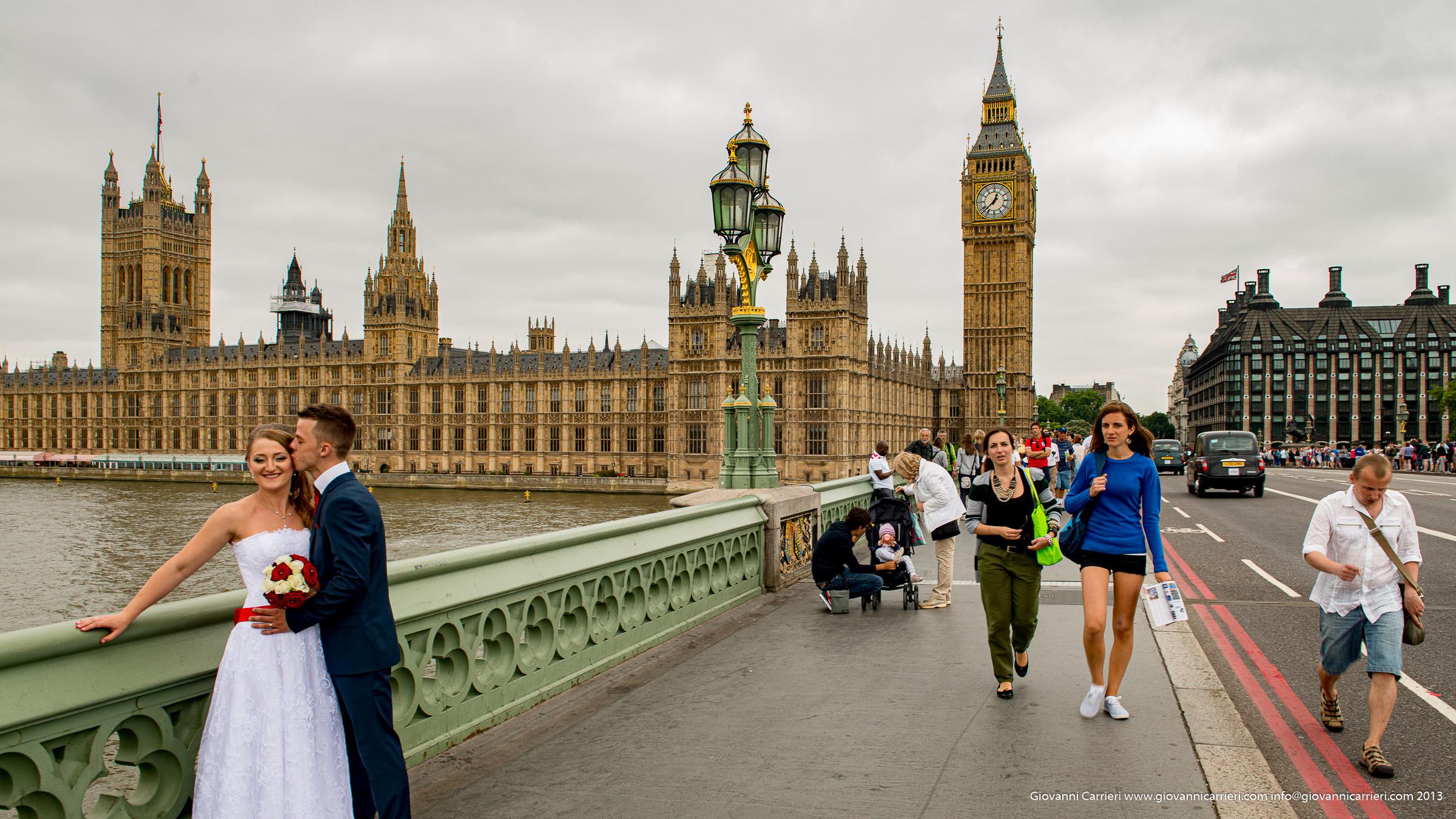 Il Big Ben ed il Palazzo di Westminster - Londra