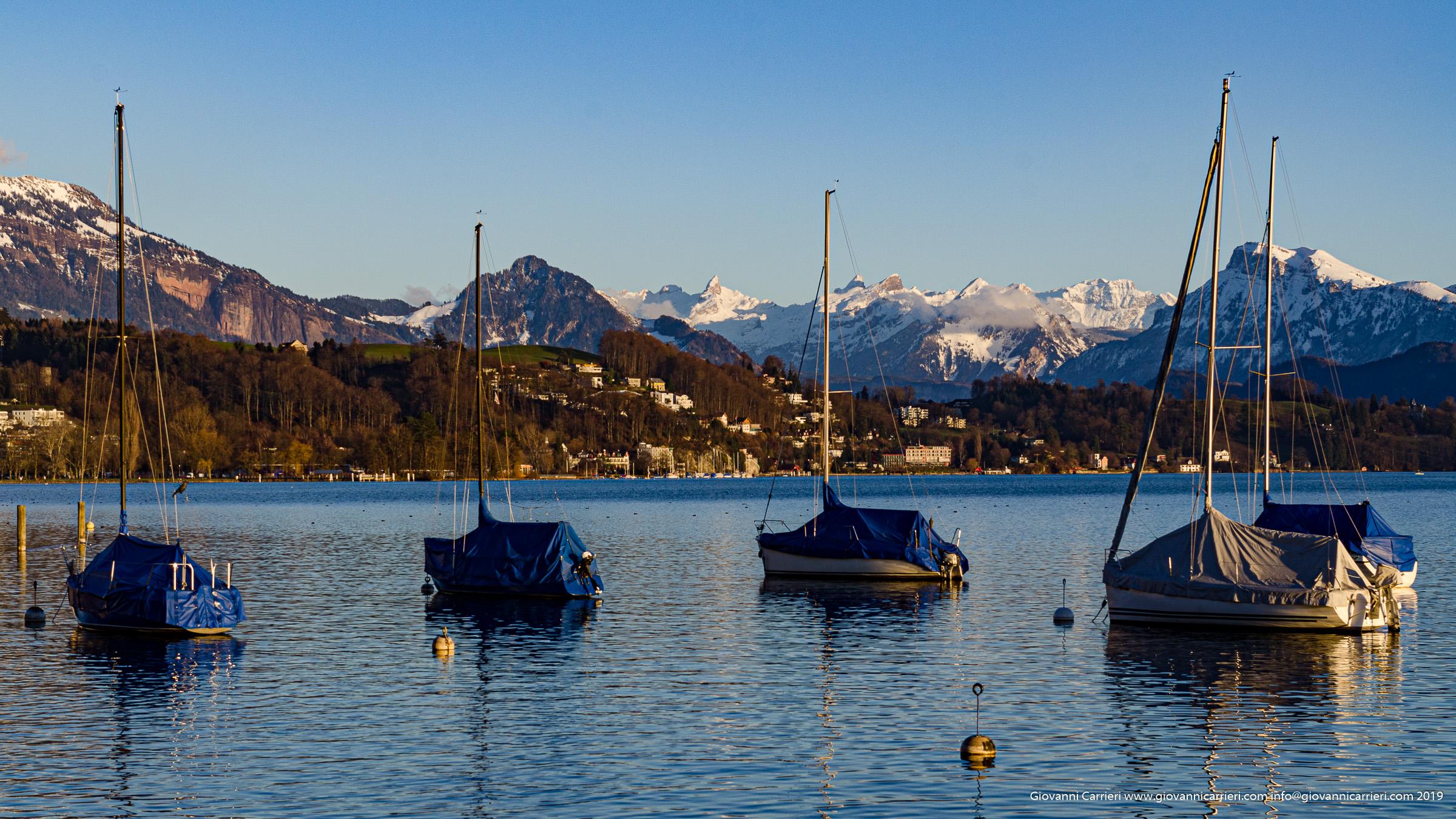 Vista del Lago di Lucerna