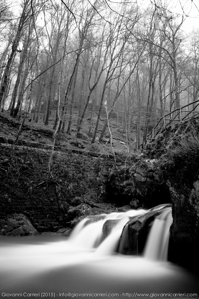 Le cascate Mullerthal
