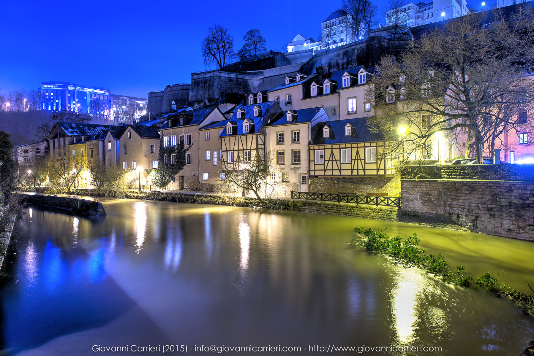 Landscape of the old city - Luxembourg
