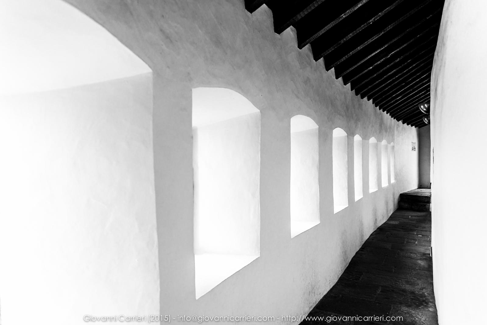 Un corridoio del Castello di Vianden