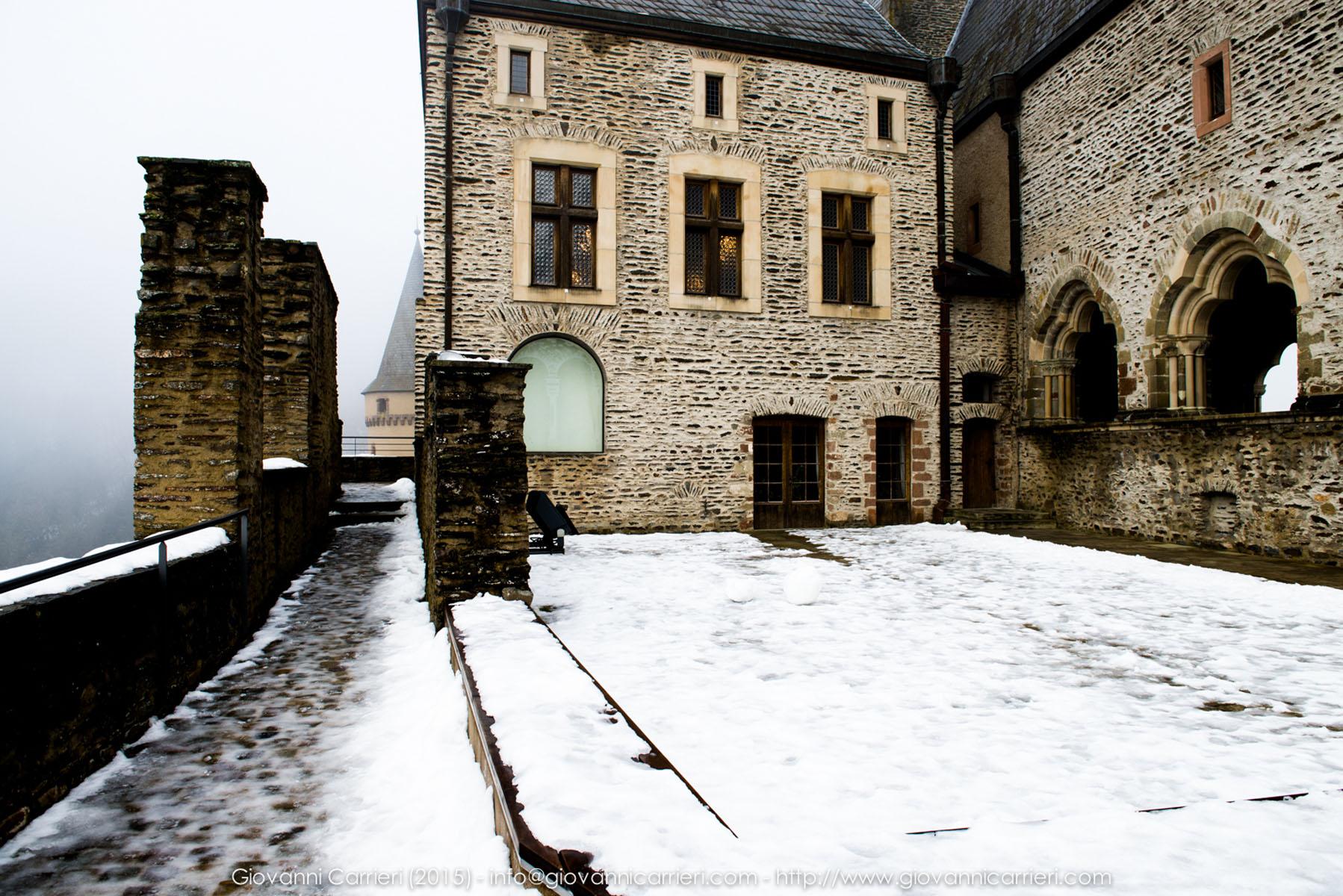 La terrazza del Castelllo di Vianden