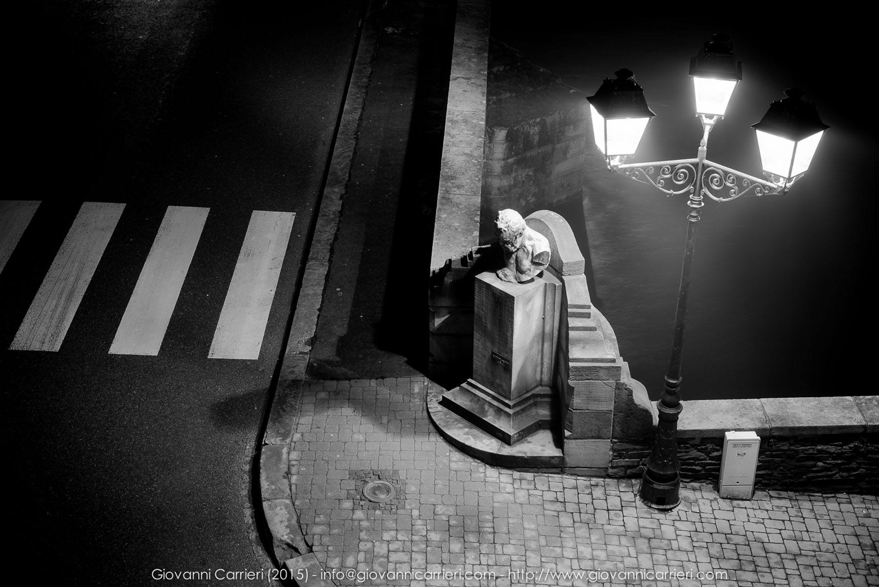 Il monumento dedicato a Victor Hugo, nato a Vianden