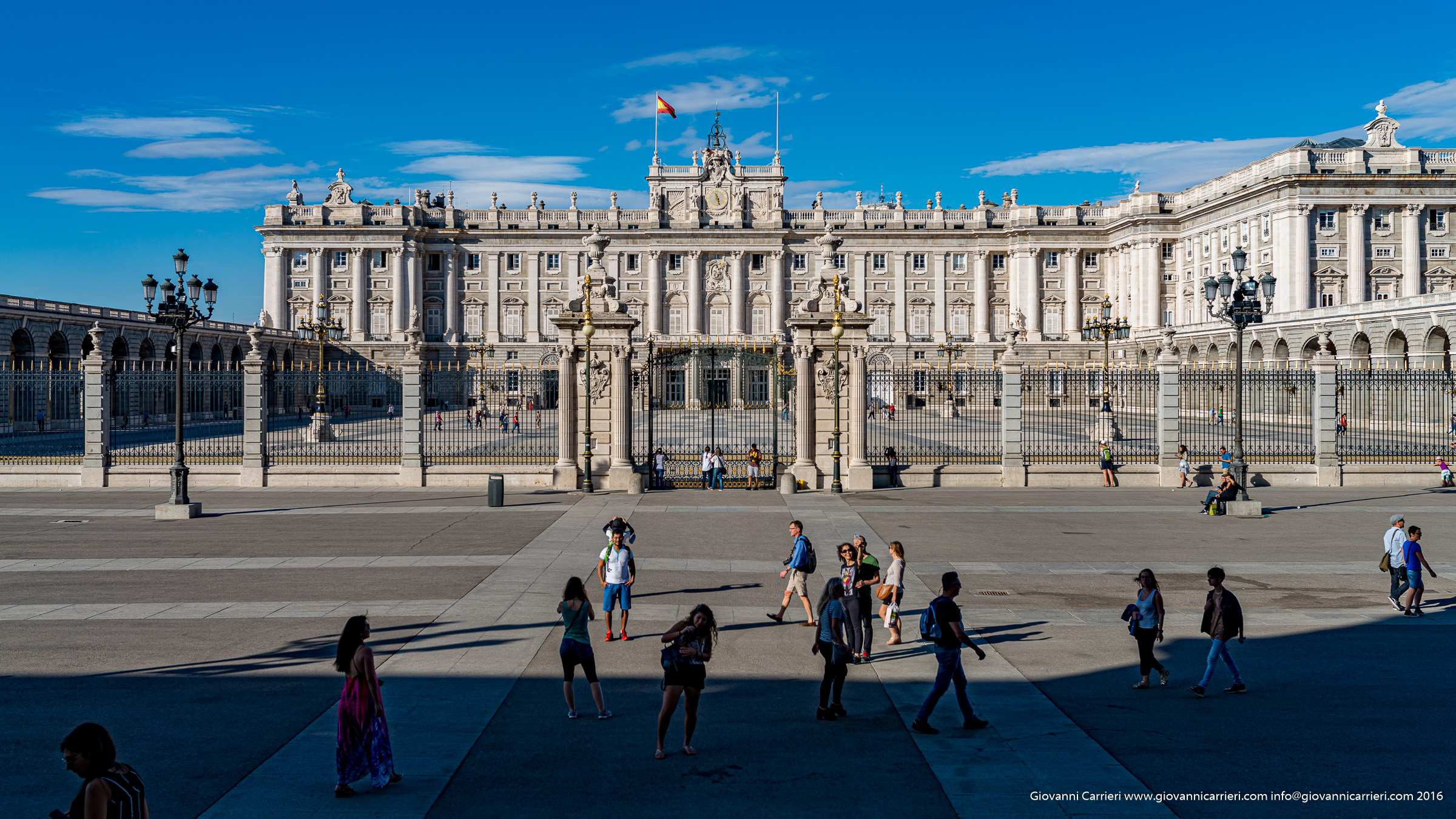 Facciata sud del Palazzo Reale, Madrid