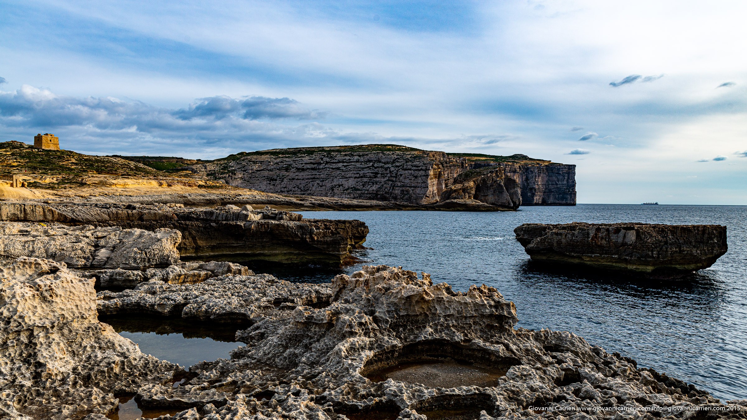 La finestra azzurra di Dwejra in Comino - Malta