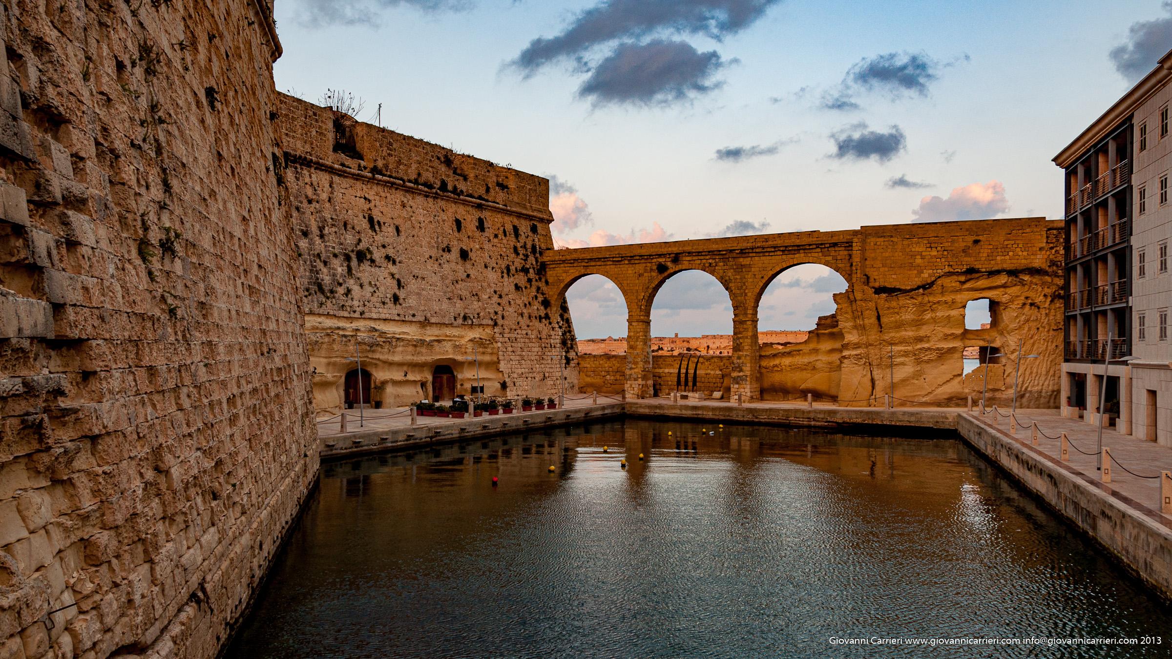 Particolare della Grande Baia a Malta