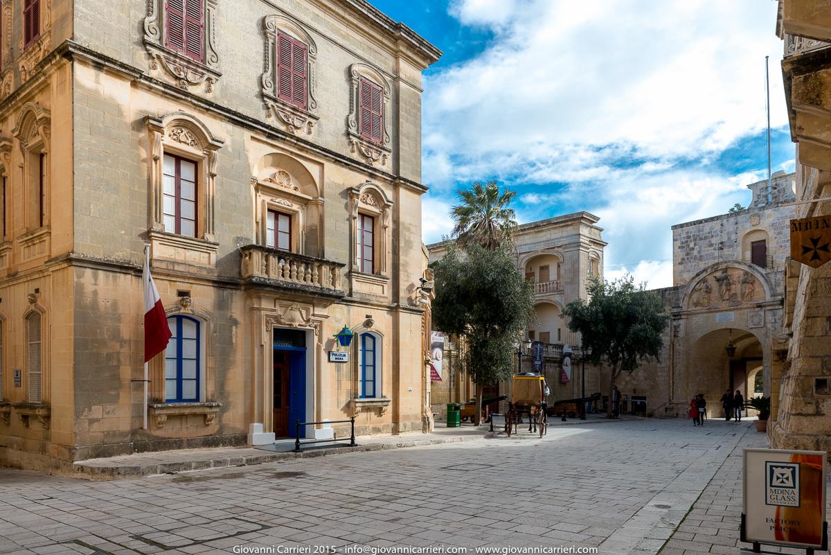 Piazza San Publju - Mdina Malta