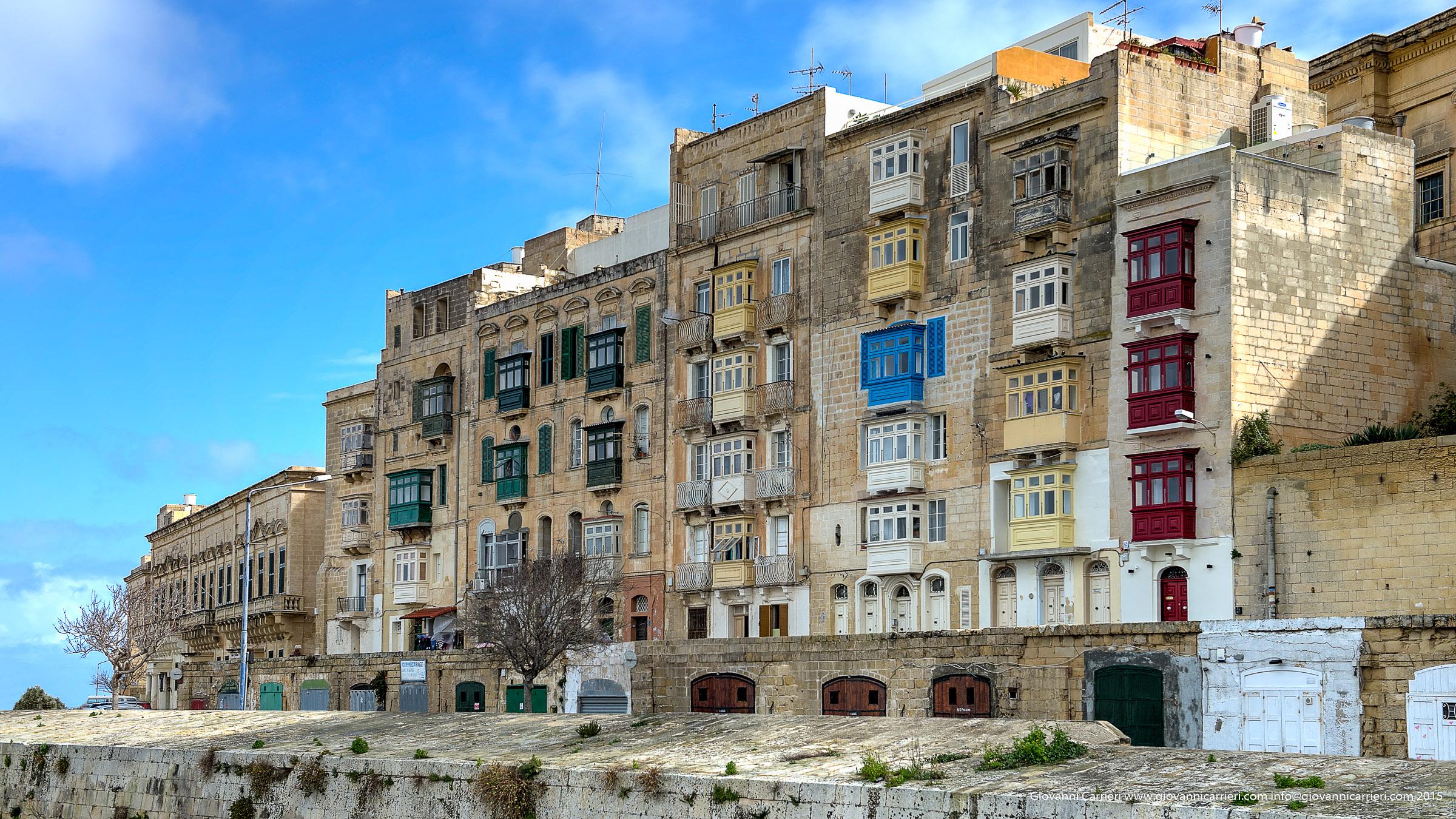The palaces of Valletta - Malta