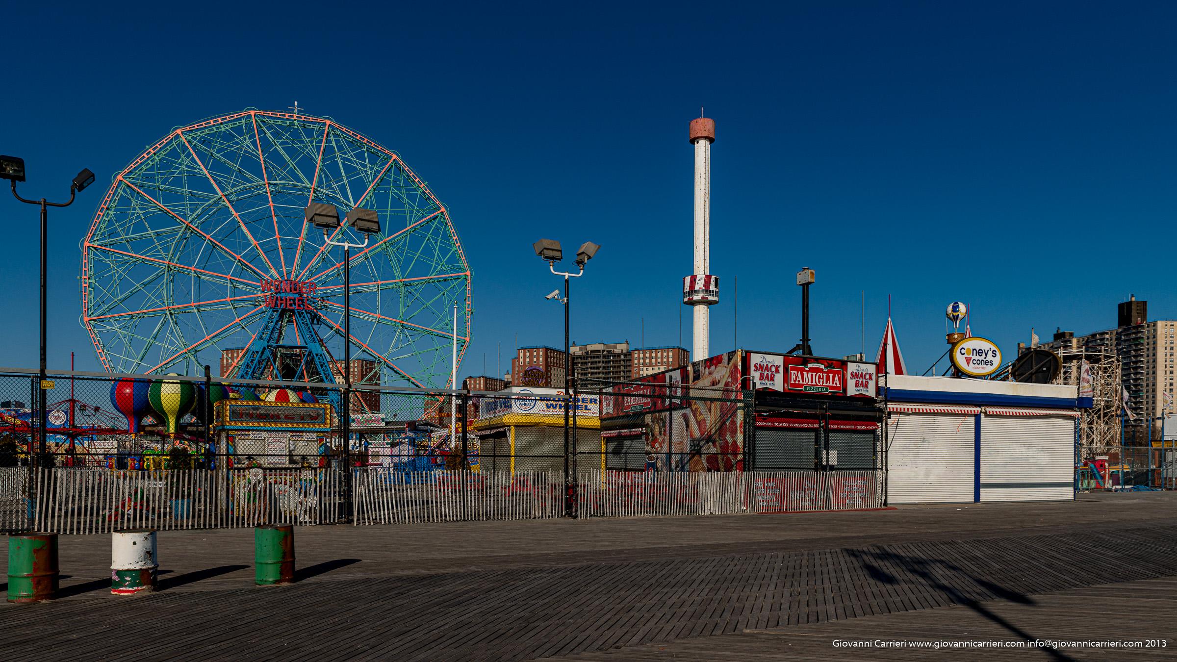 il parco di Coney Island