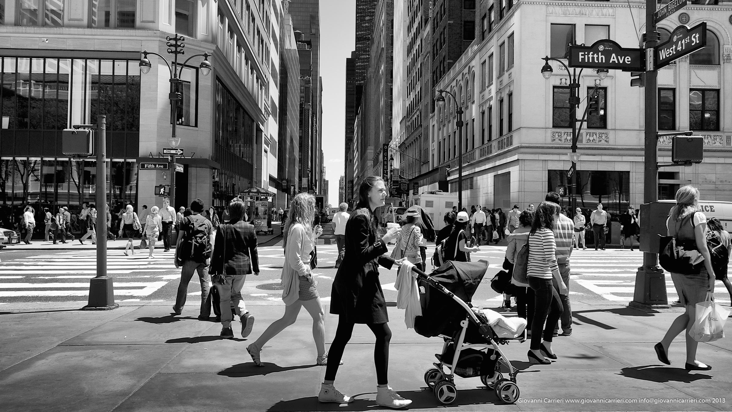 La quinta strada - Manhattan