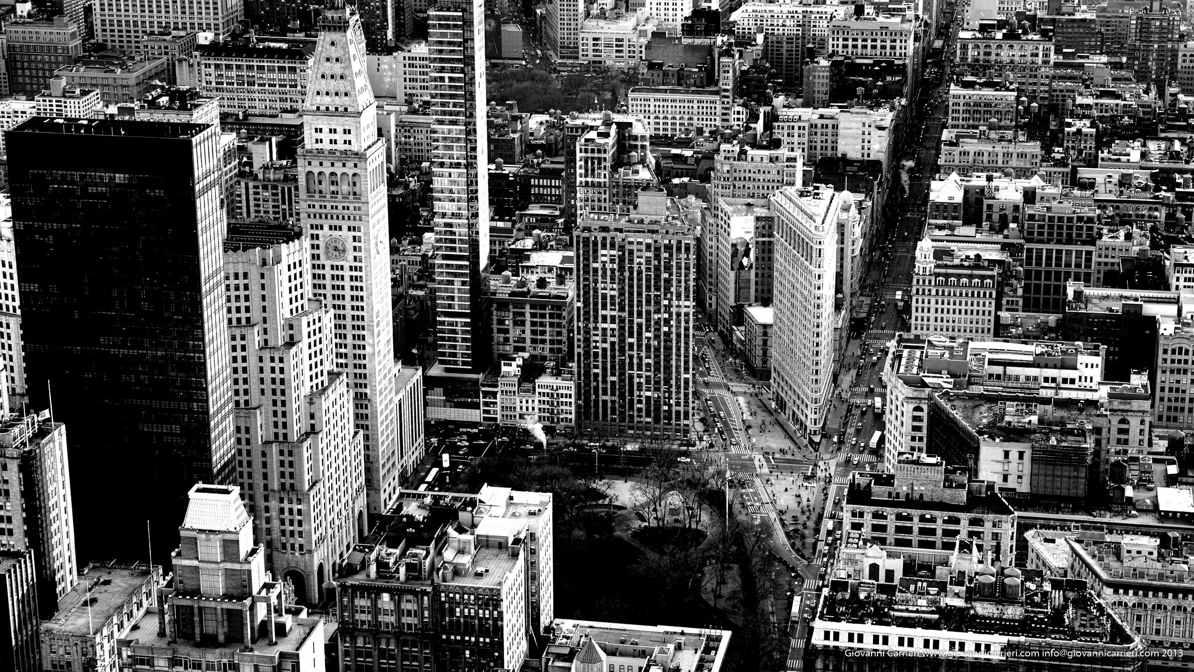 Il Flat Iron visto dall'Empire State Building
