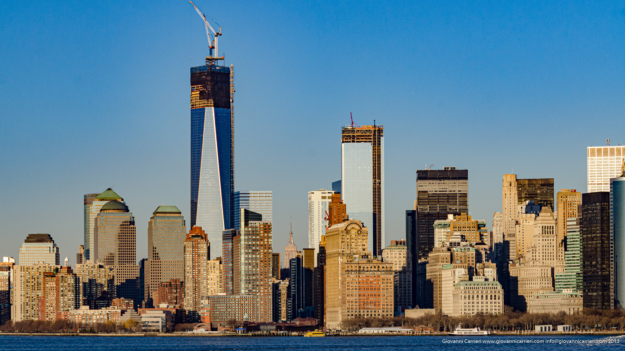 Freedom Tower viewed from Brooklyn