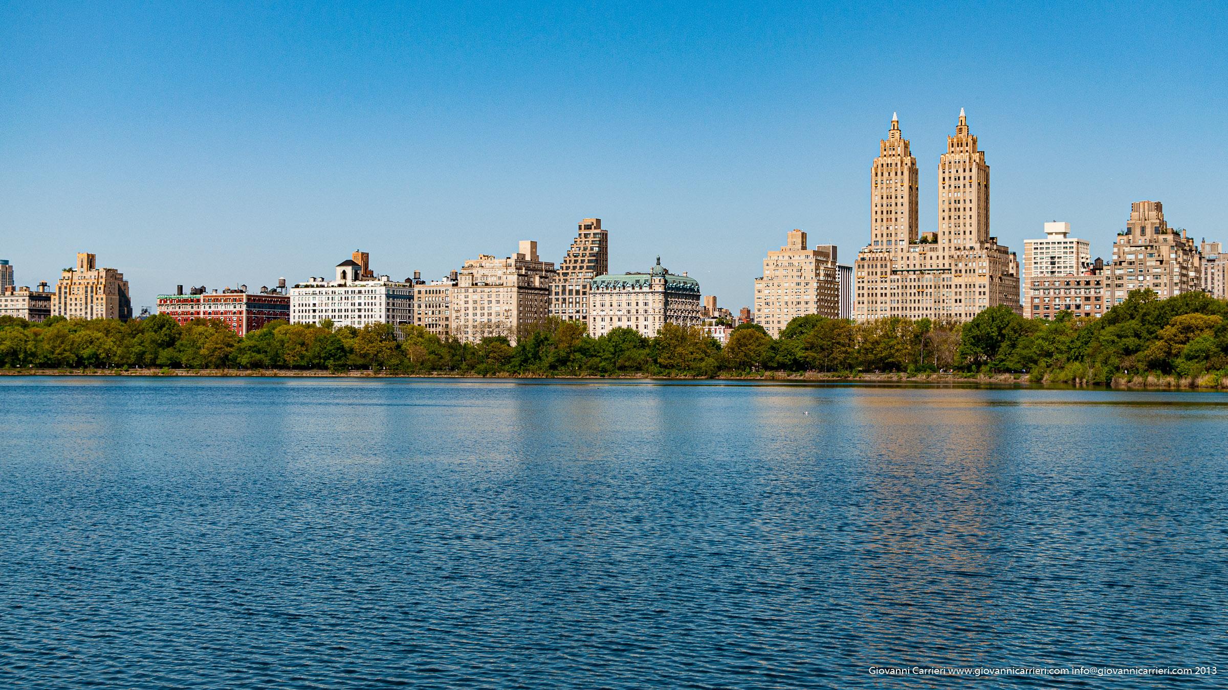 La riserva Jacqueline Kennedy presso il Central Park