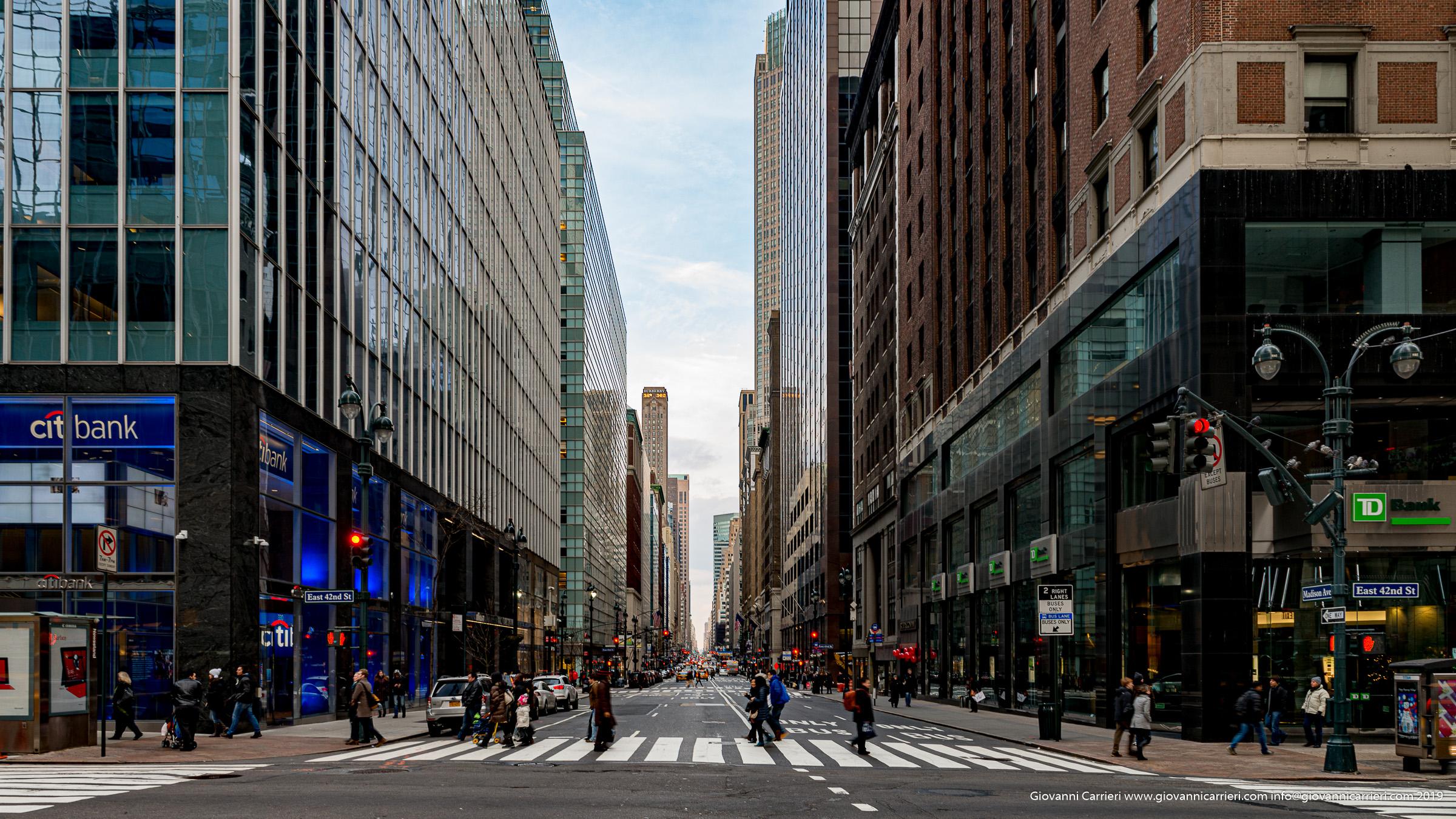 Sulla Madison Avenue