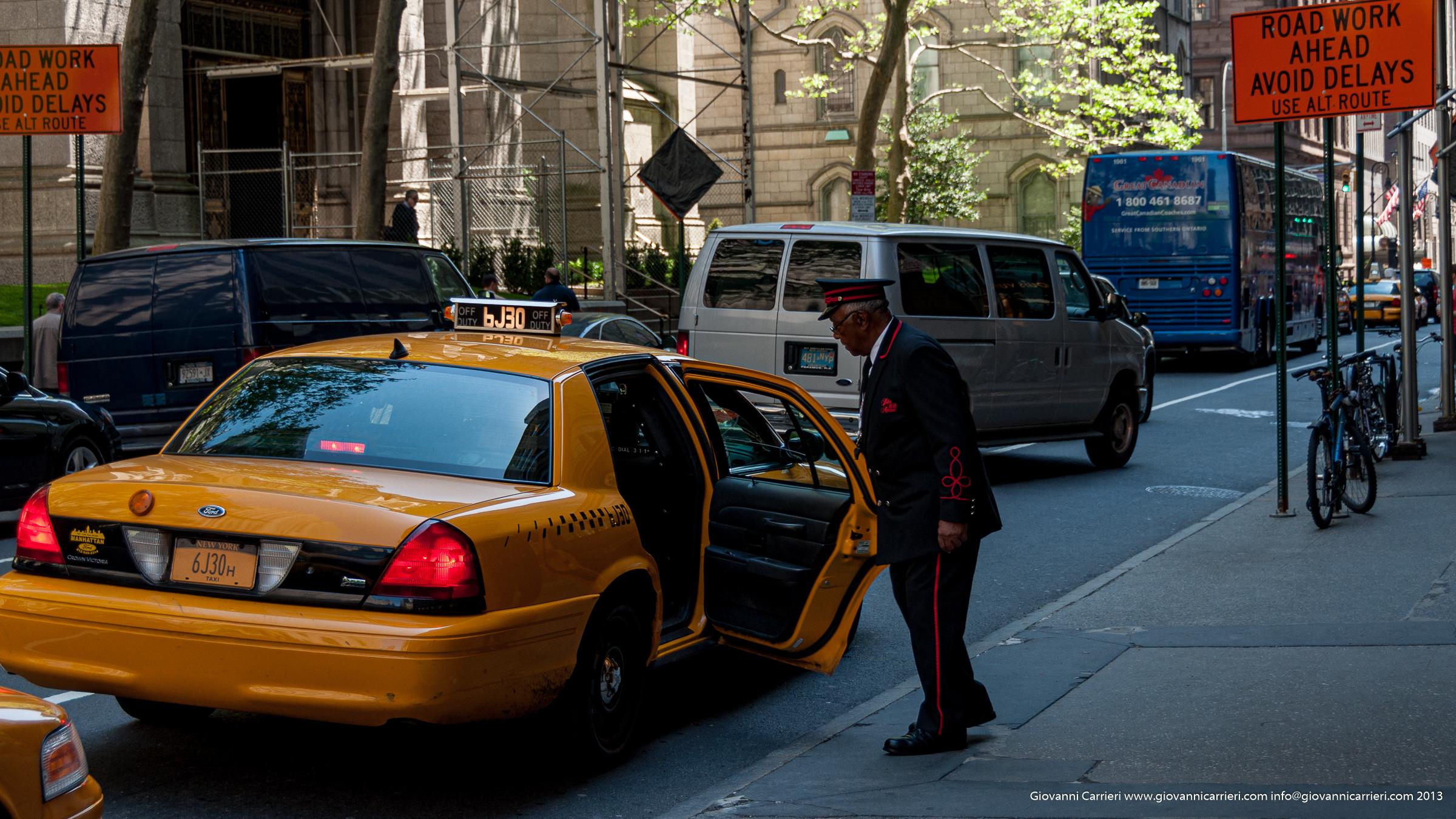 Taxi di Manhattan