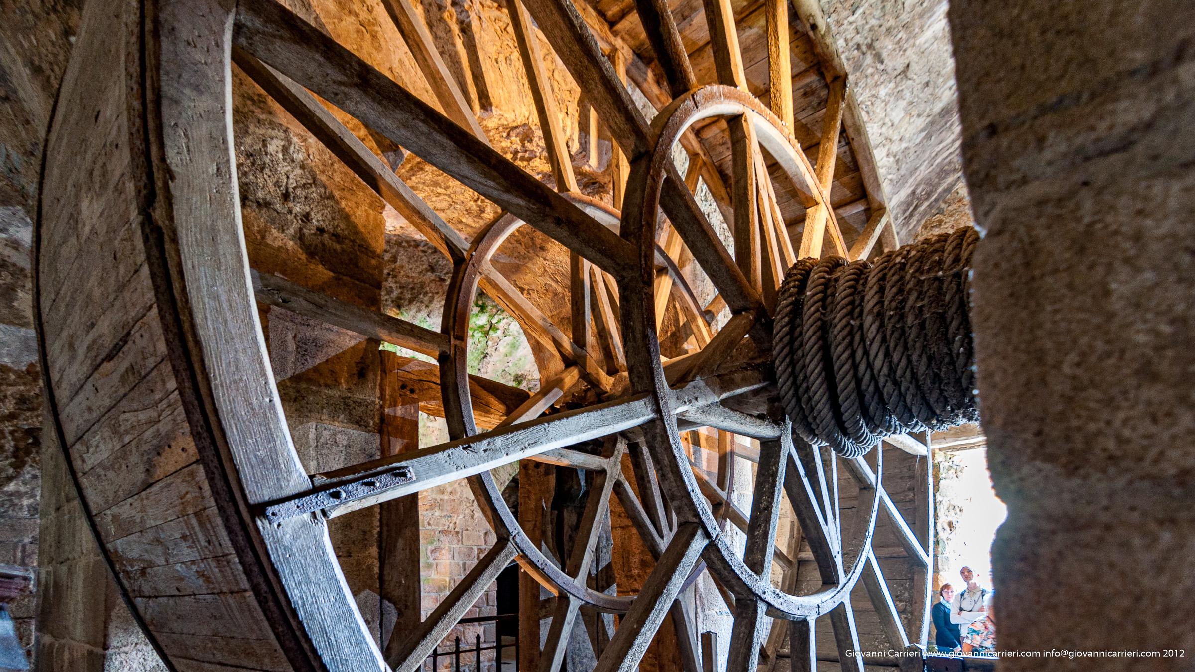 Gli ingranaggi a ruota dell'Abbazia di Mont San Michel