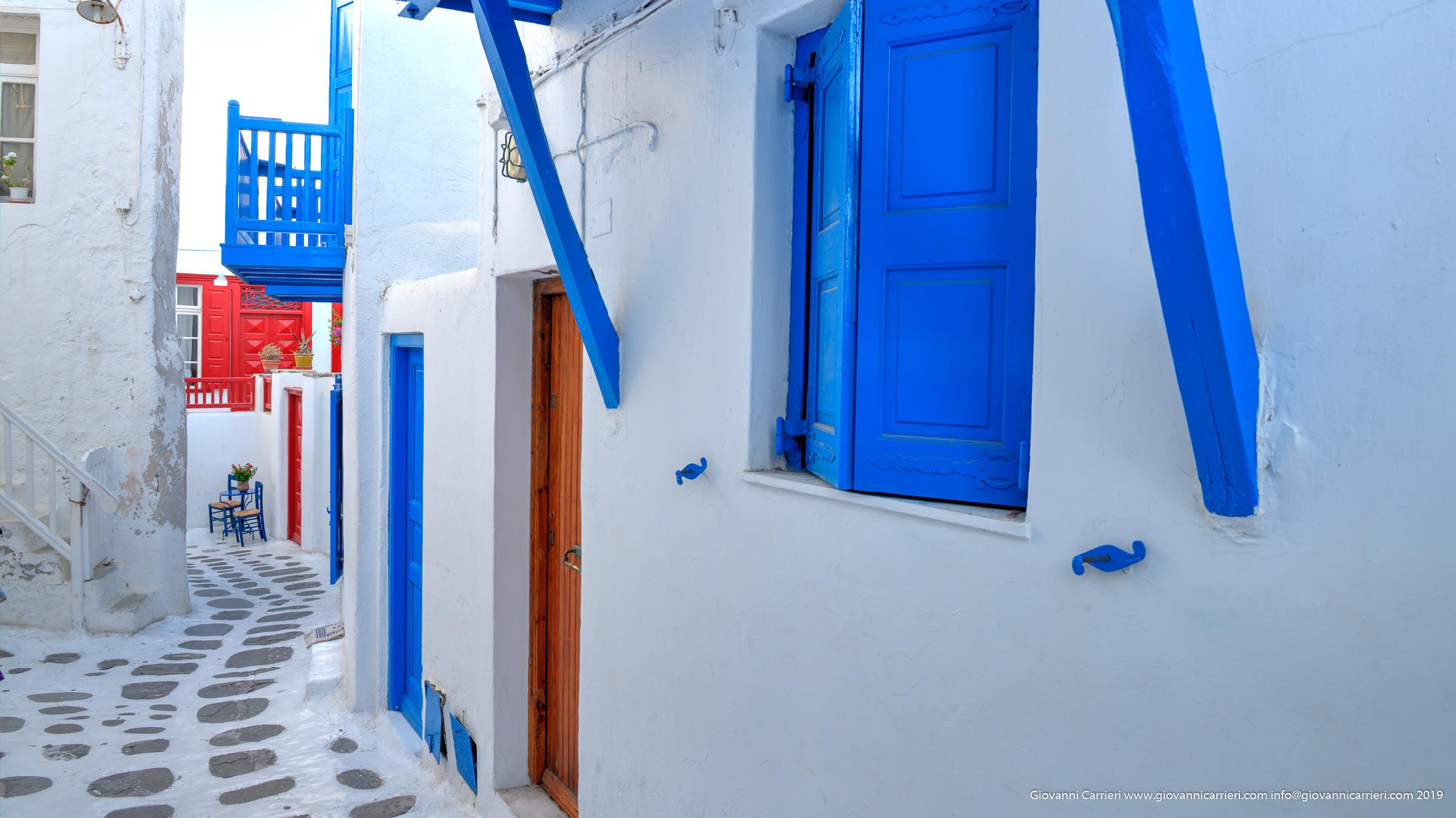 Le stradine di Chora - Mykonos