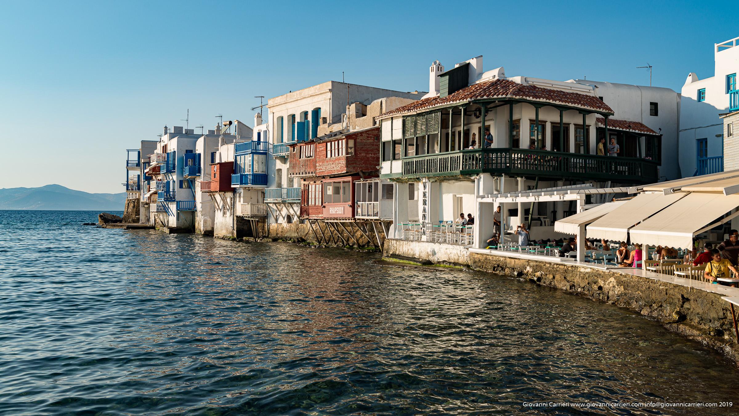 The little Venice of Chora - Mykonos